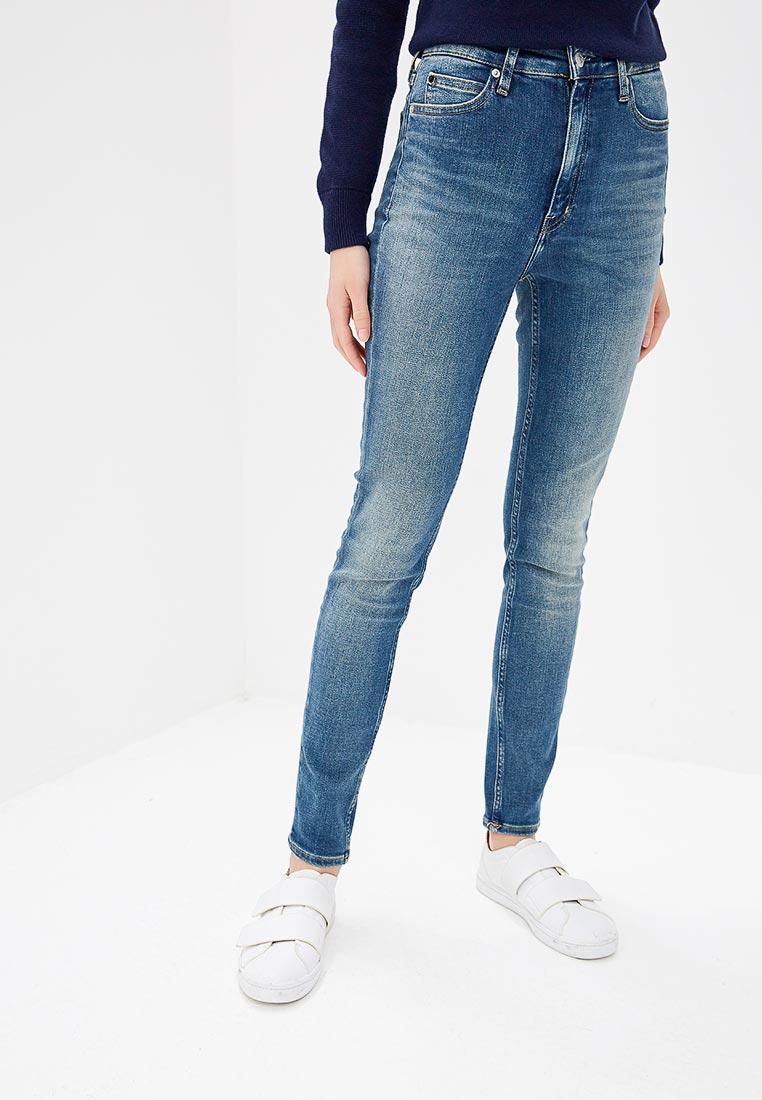 1d7d0be763a6a Зауженные джинсы женские Calvin Klein Jeans J20J209440 купить за ...