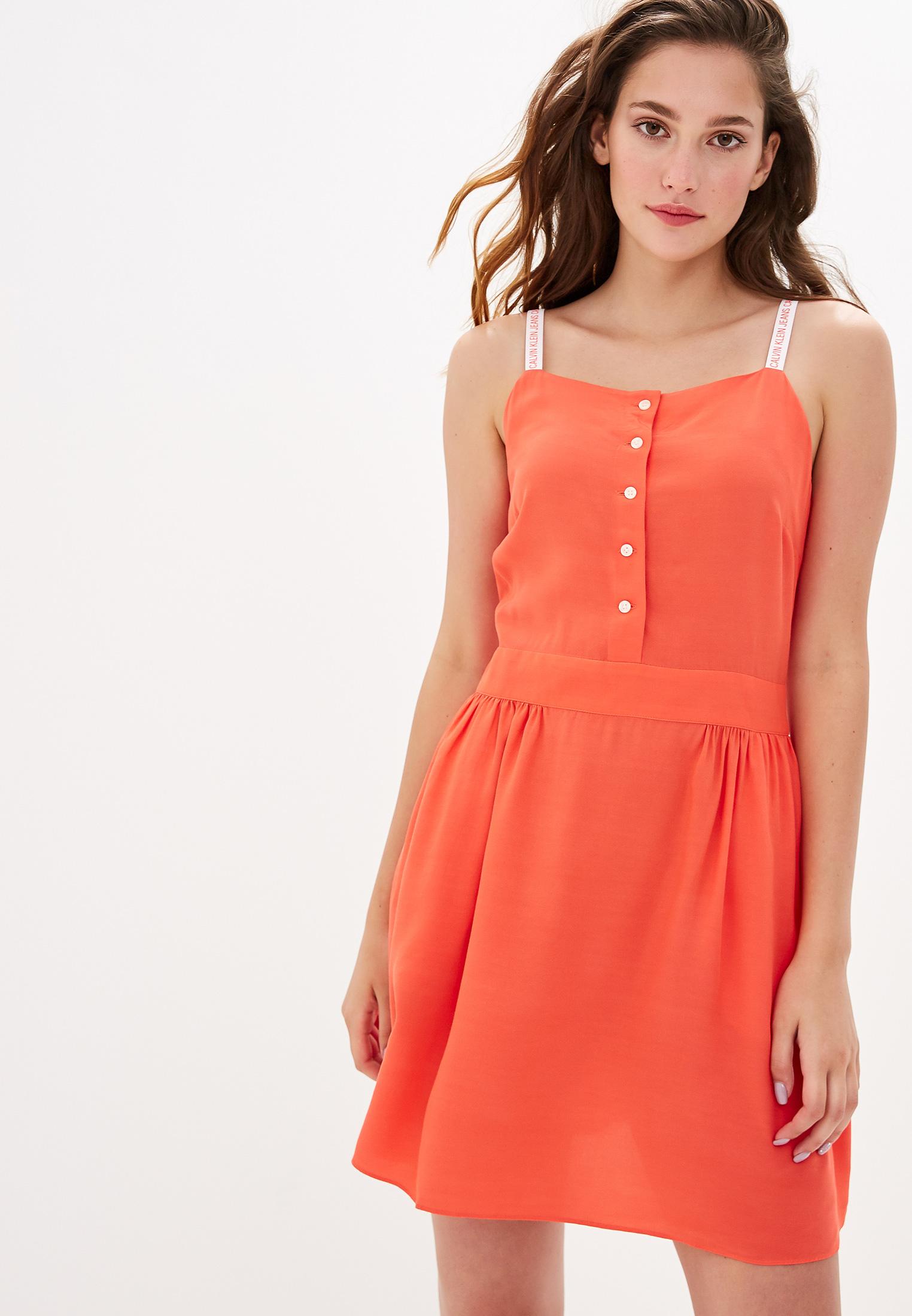 Женские платья-сарафаны Calvin Klein Jeans J20J211875