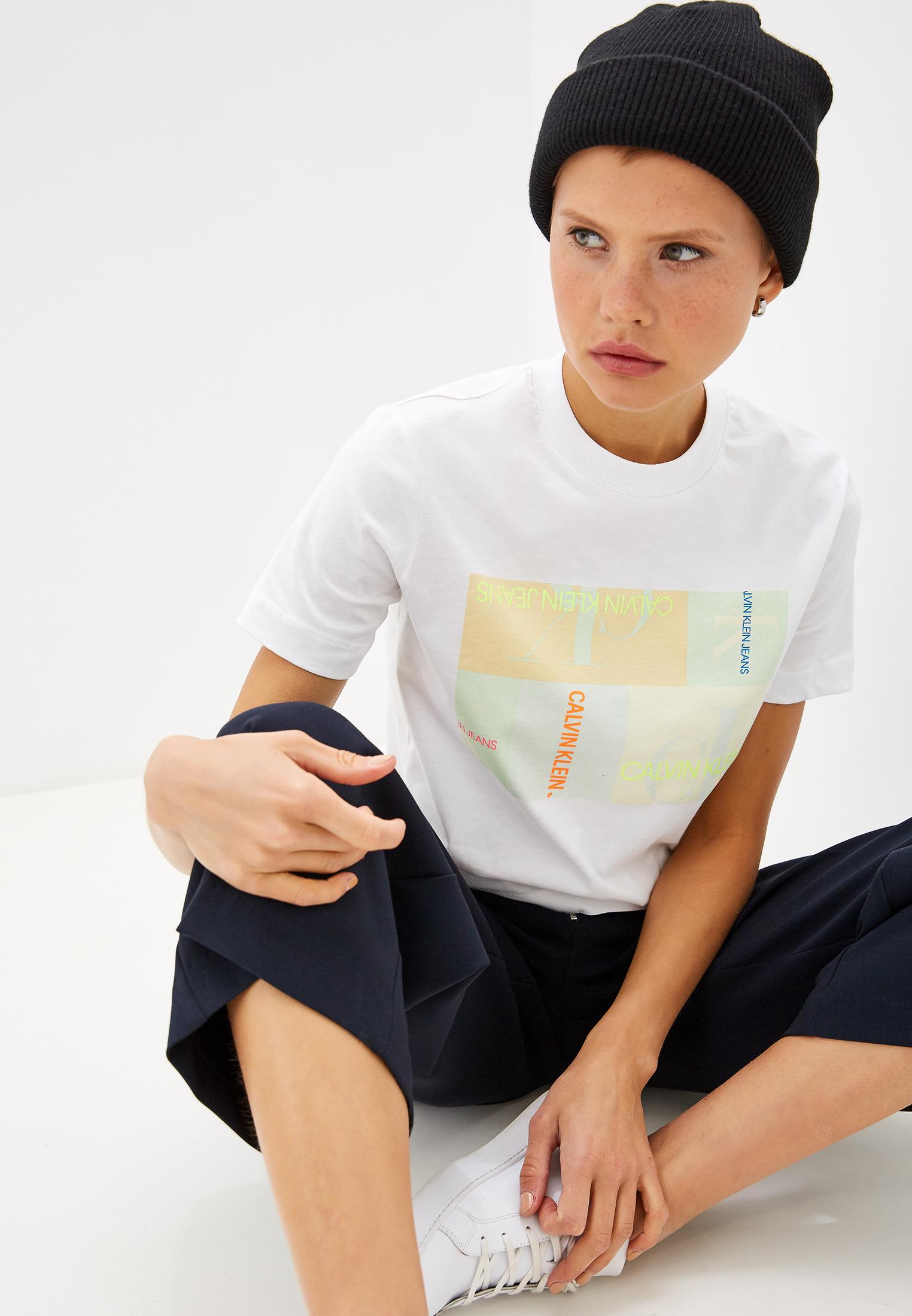 Футболка с коротким рукавом Calvin Klein Jeans J20J211604