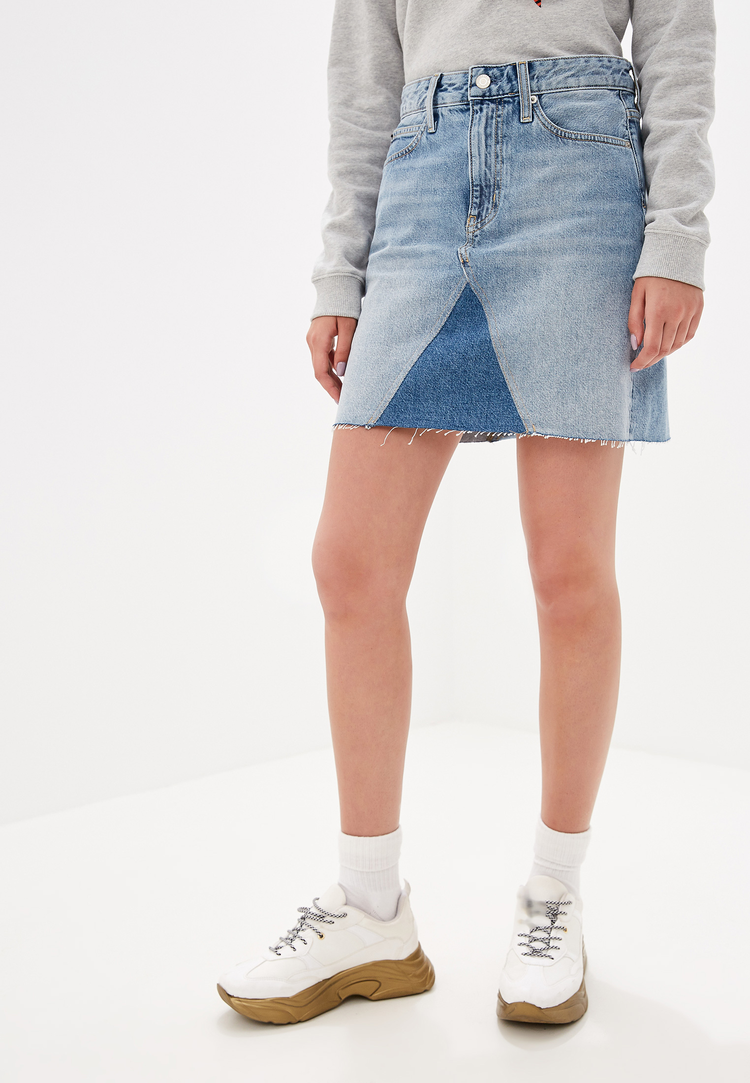 Джинсовая юбка Calvin Klein Jeans J20J211427