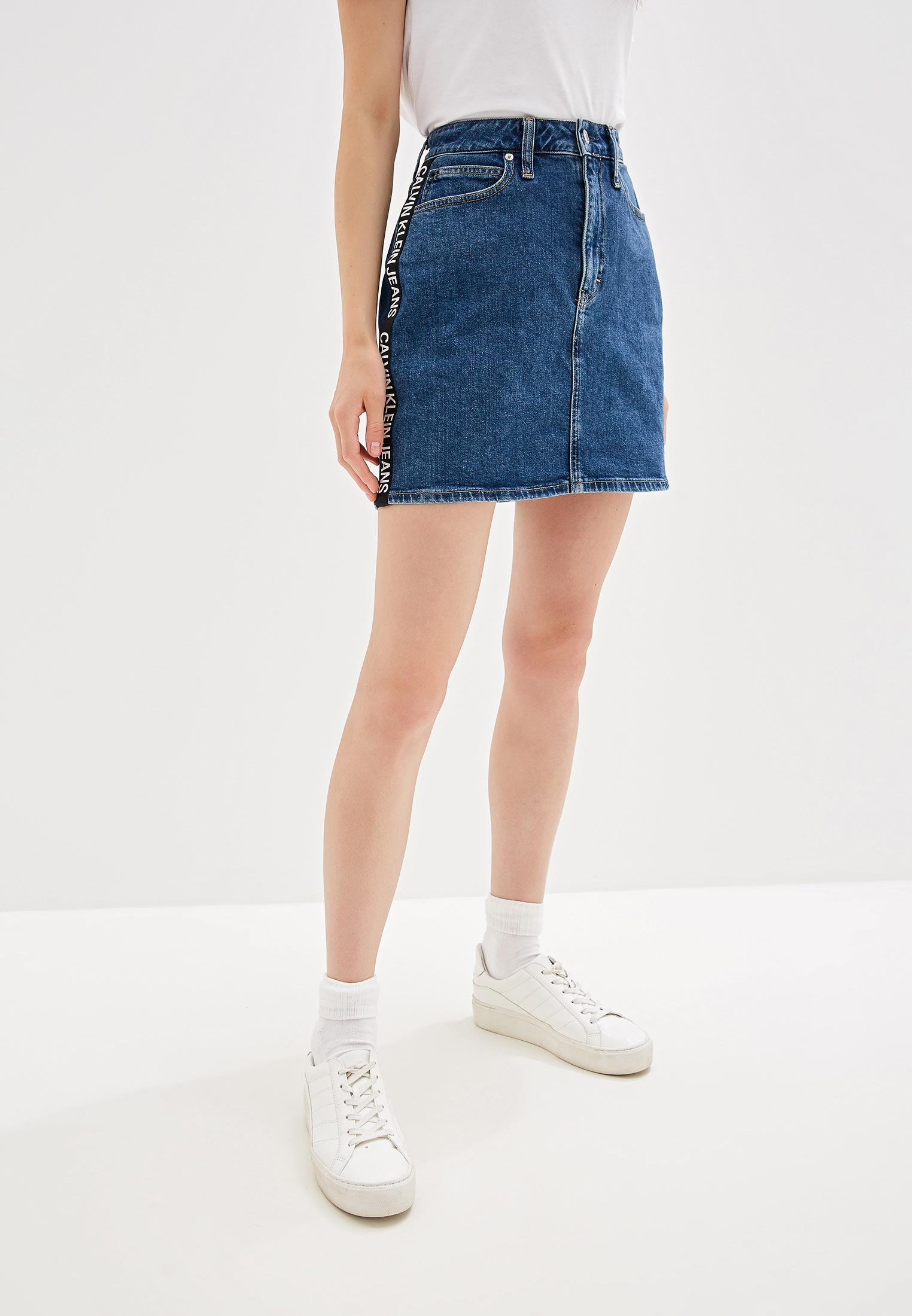 Джинсовая юбка Calvin Klein Jeans J20J211832