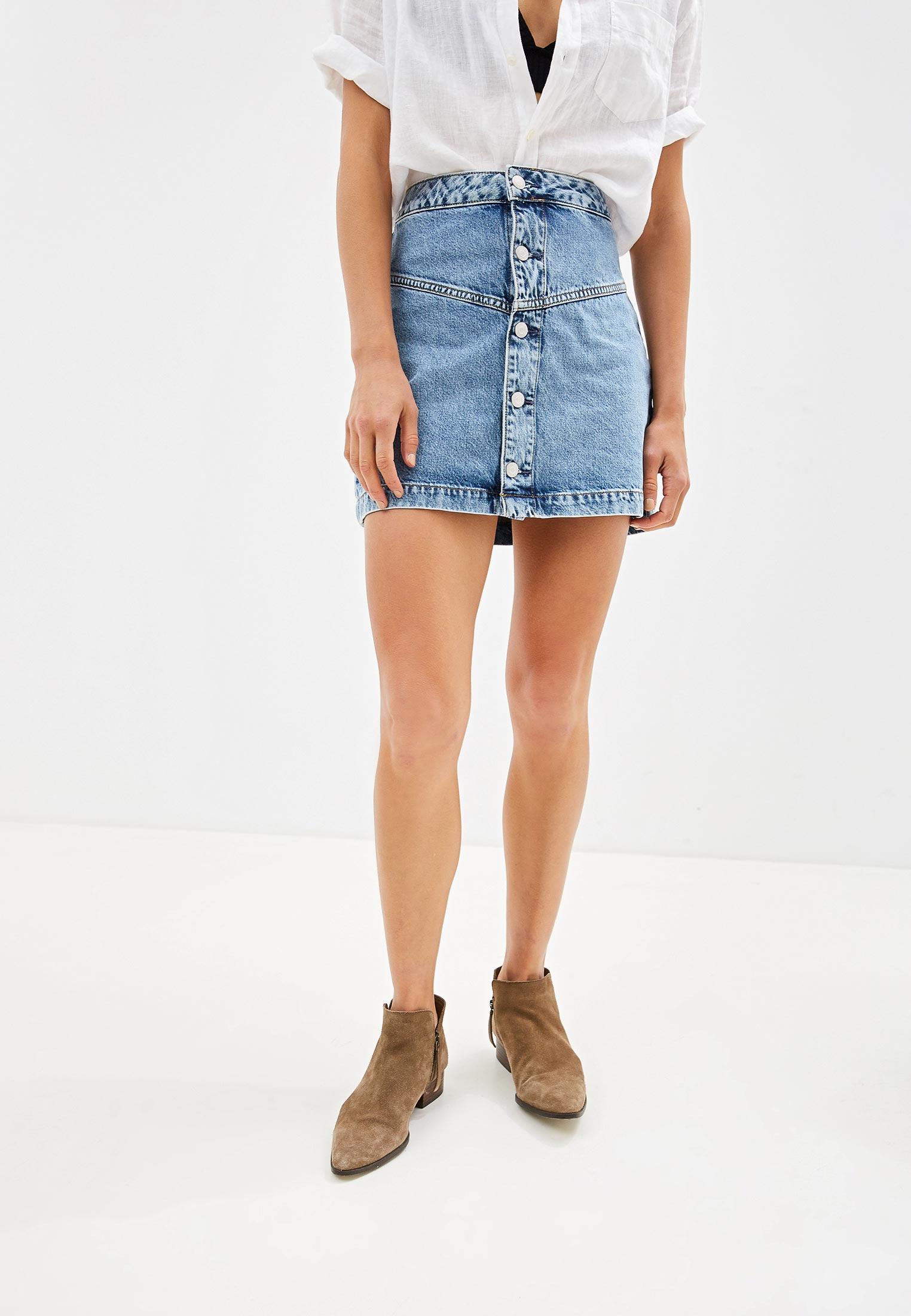 Джинсовая юбка Calvin Klein Jeans J20J211955