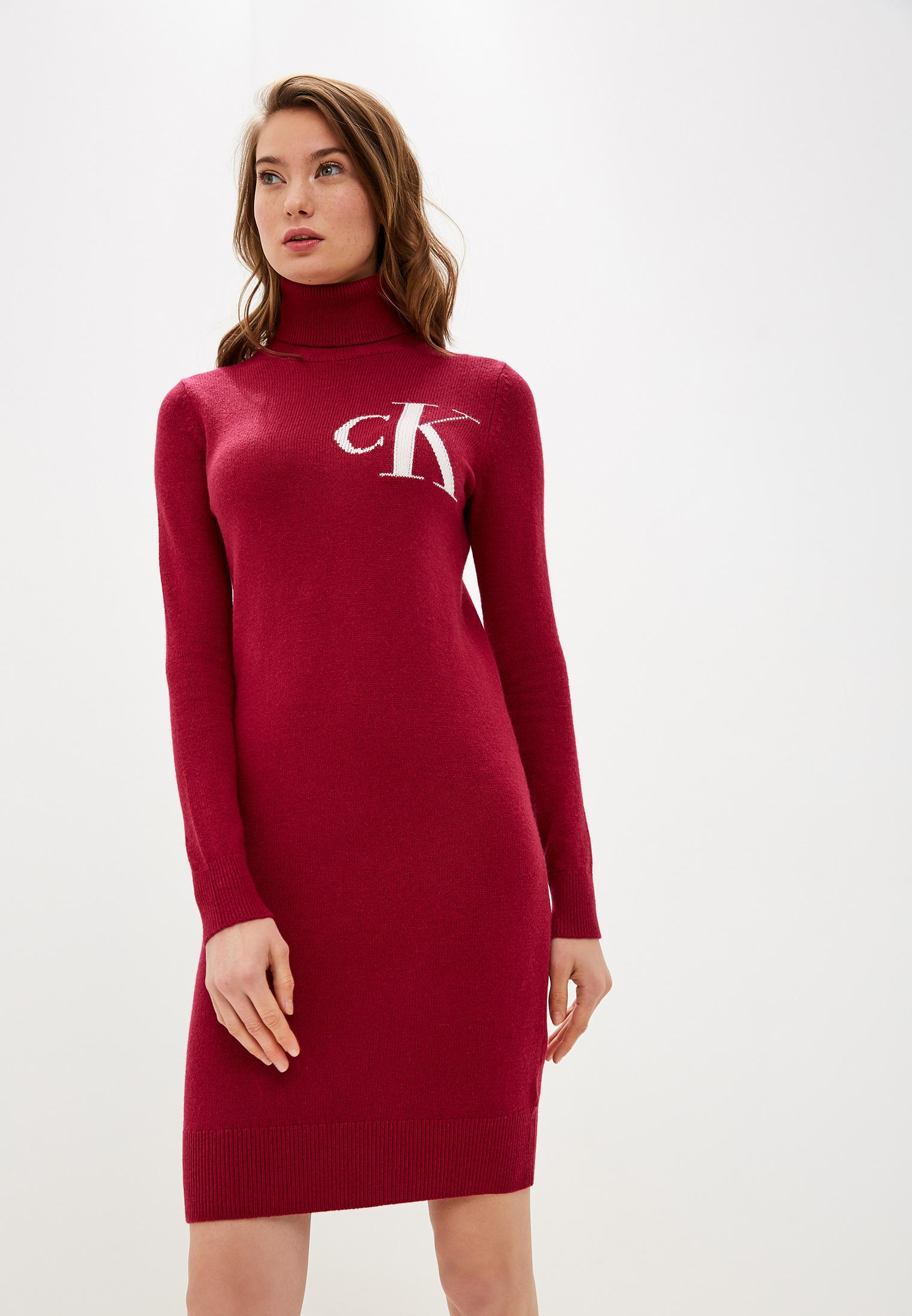 Вязаное платье Calvin Klein Jeans J20J212159