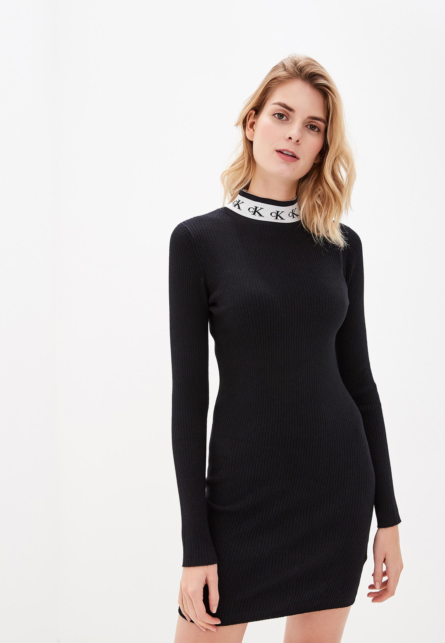 Вязаное платье Calvin Klein Jeans J20J212154