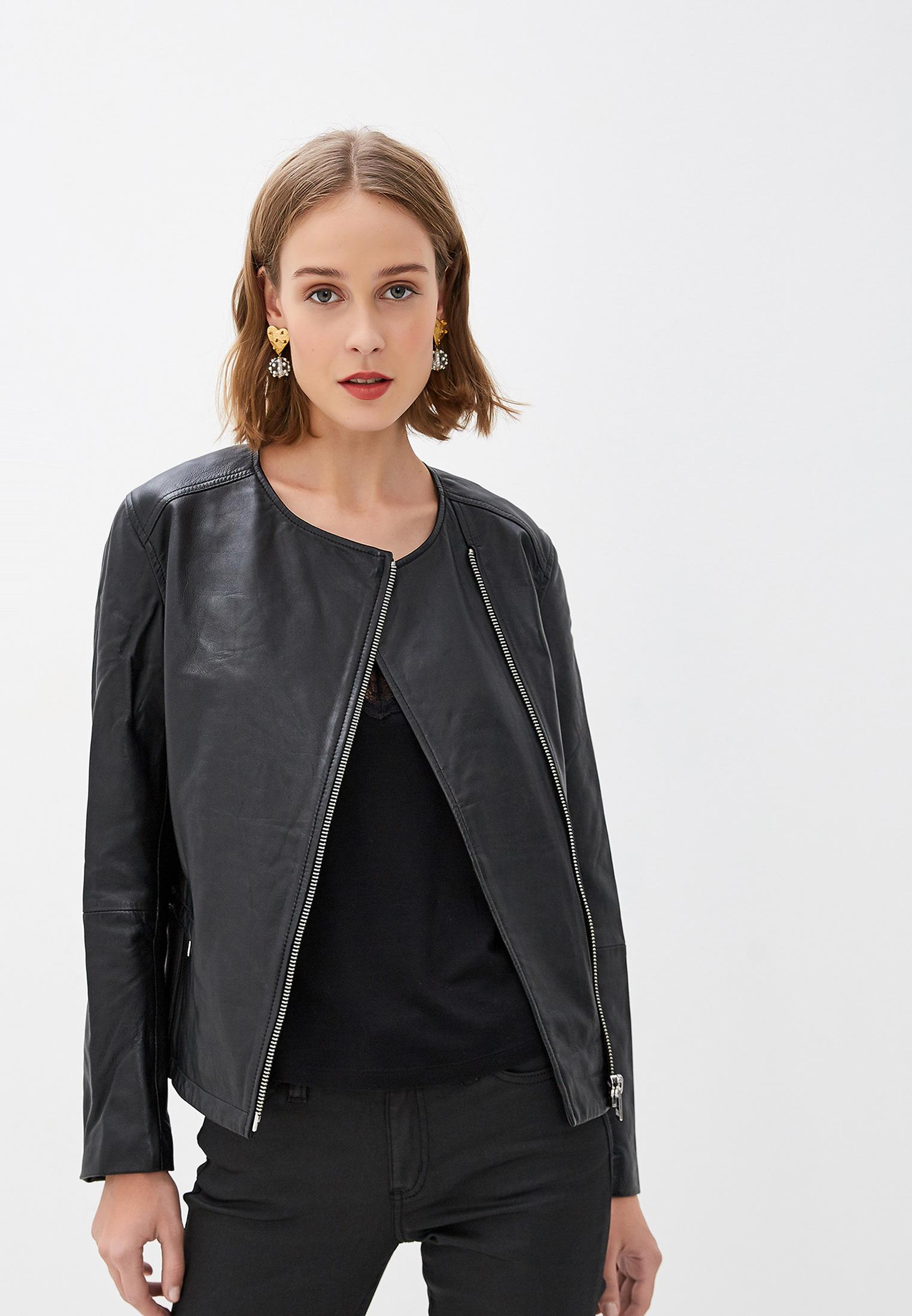 Кожаная куртка Calvin Klein Jeans J20J212996