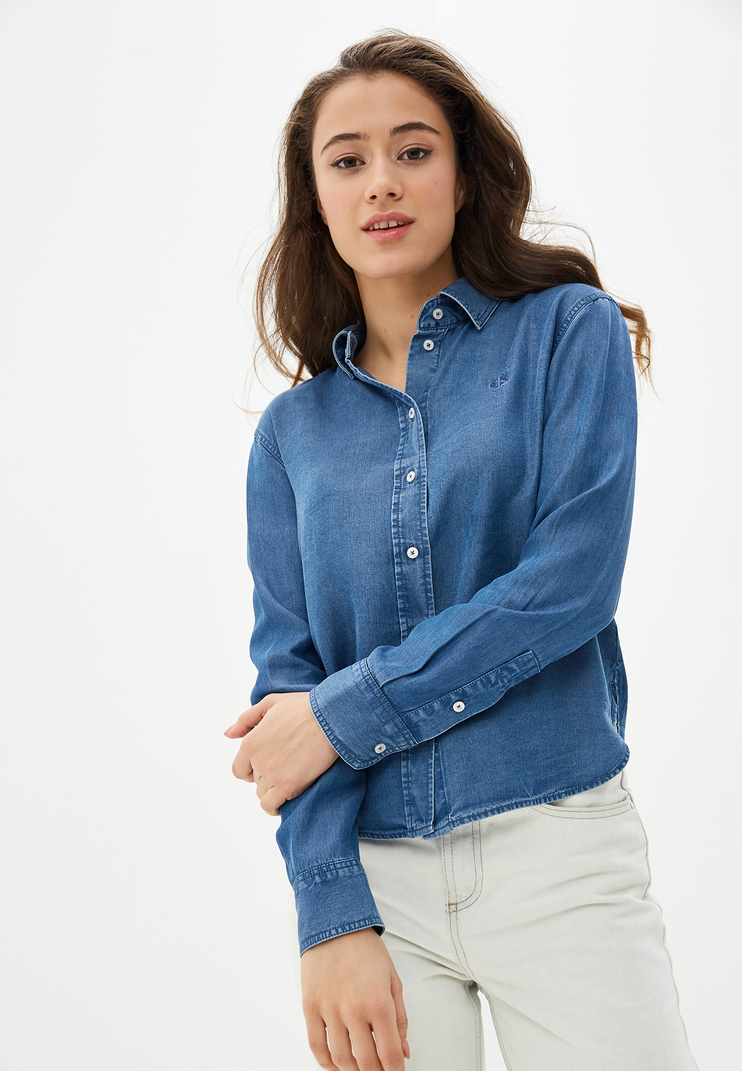 Женские джинсовые рубашки Calvin Klein Jeans J20J212887