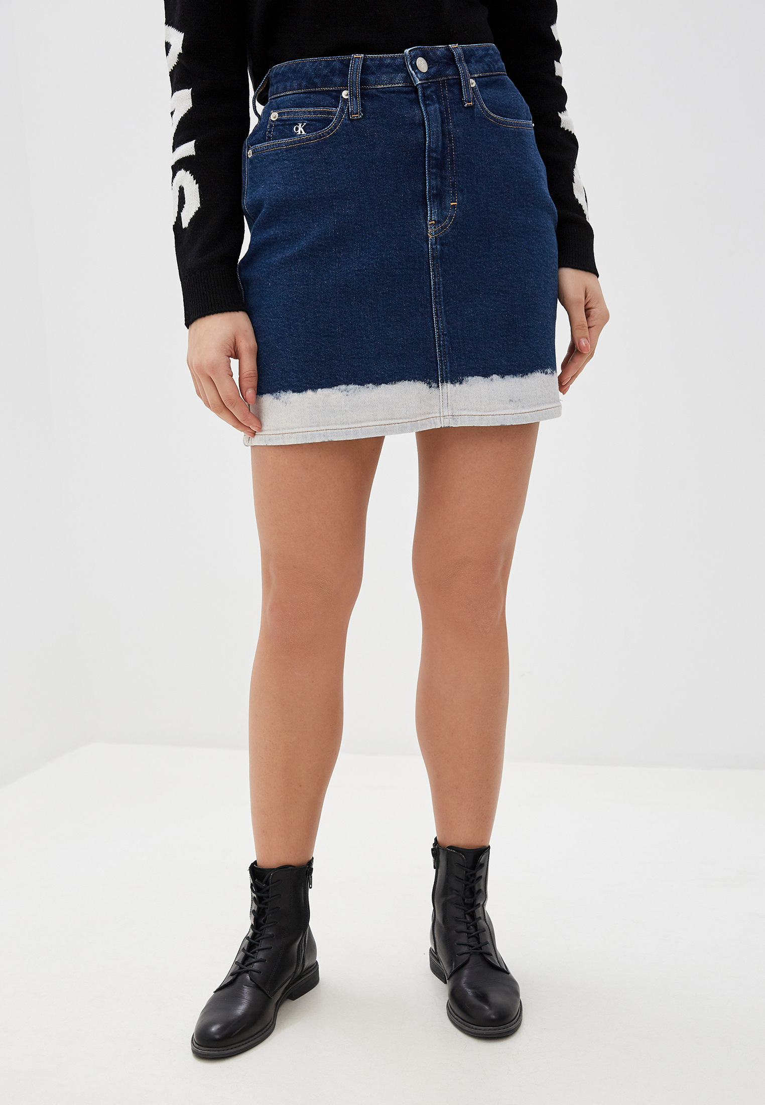 Джинсовая юбка Calvin Klein Jeans J20J212785