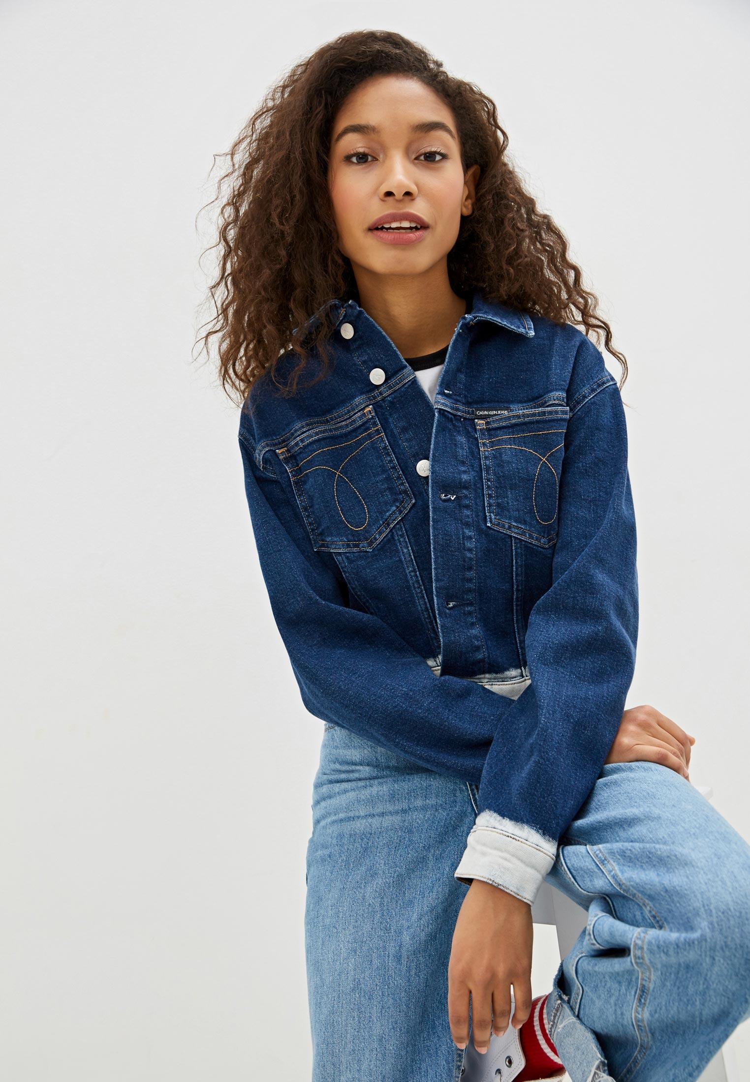 Джинсовая куртка Calvin Klein Jeans J20J212791