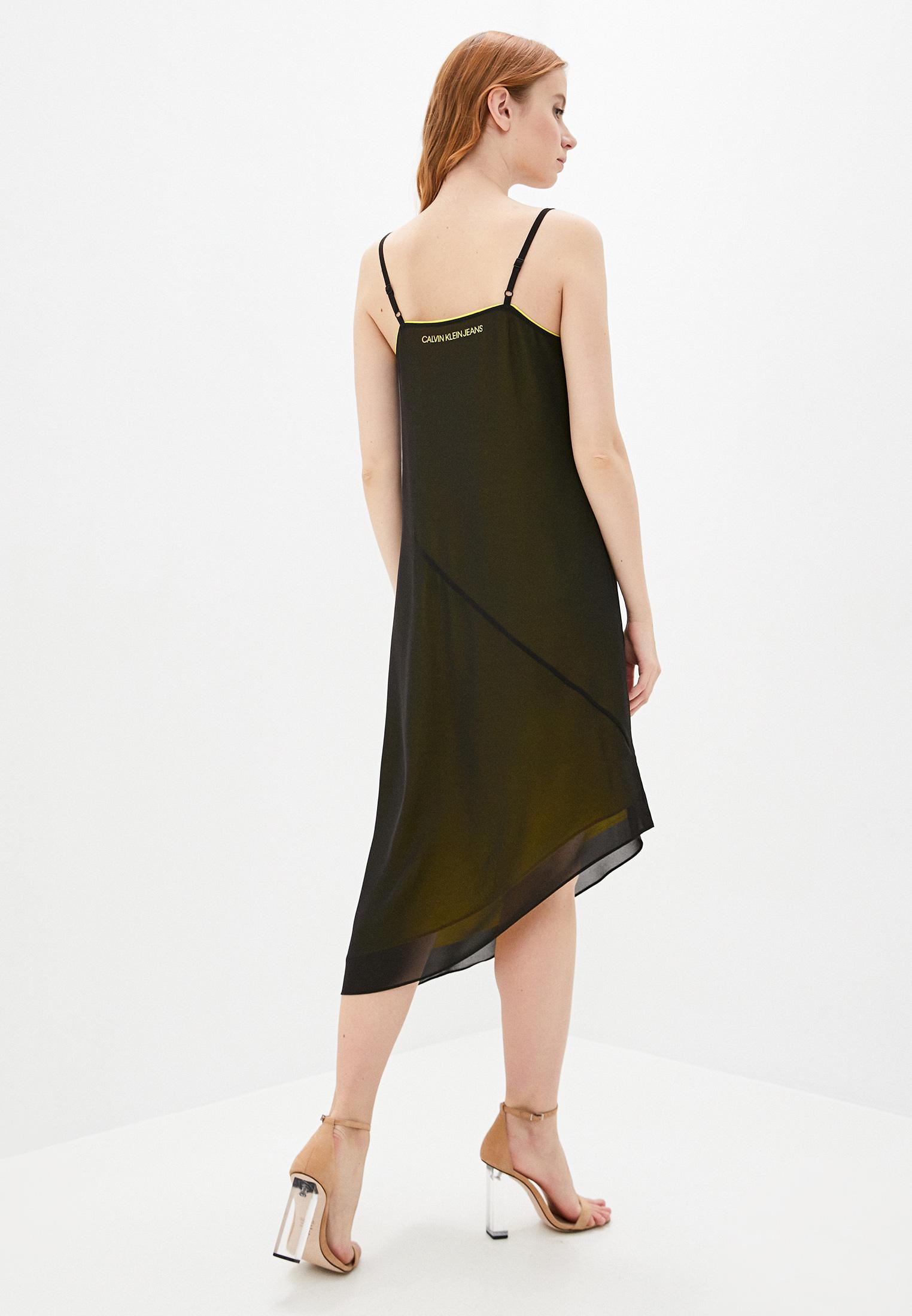Женские платья-сарафаны Calvin Klein Jeans J20J213636: изображение 3