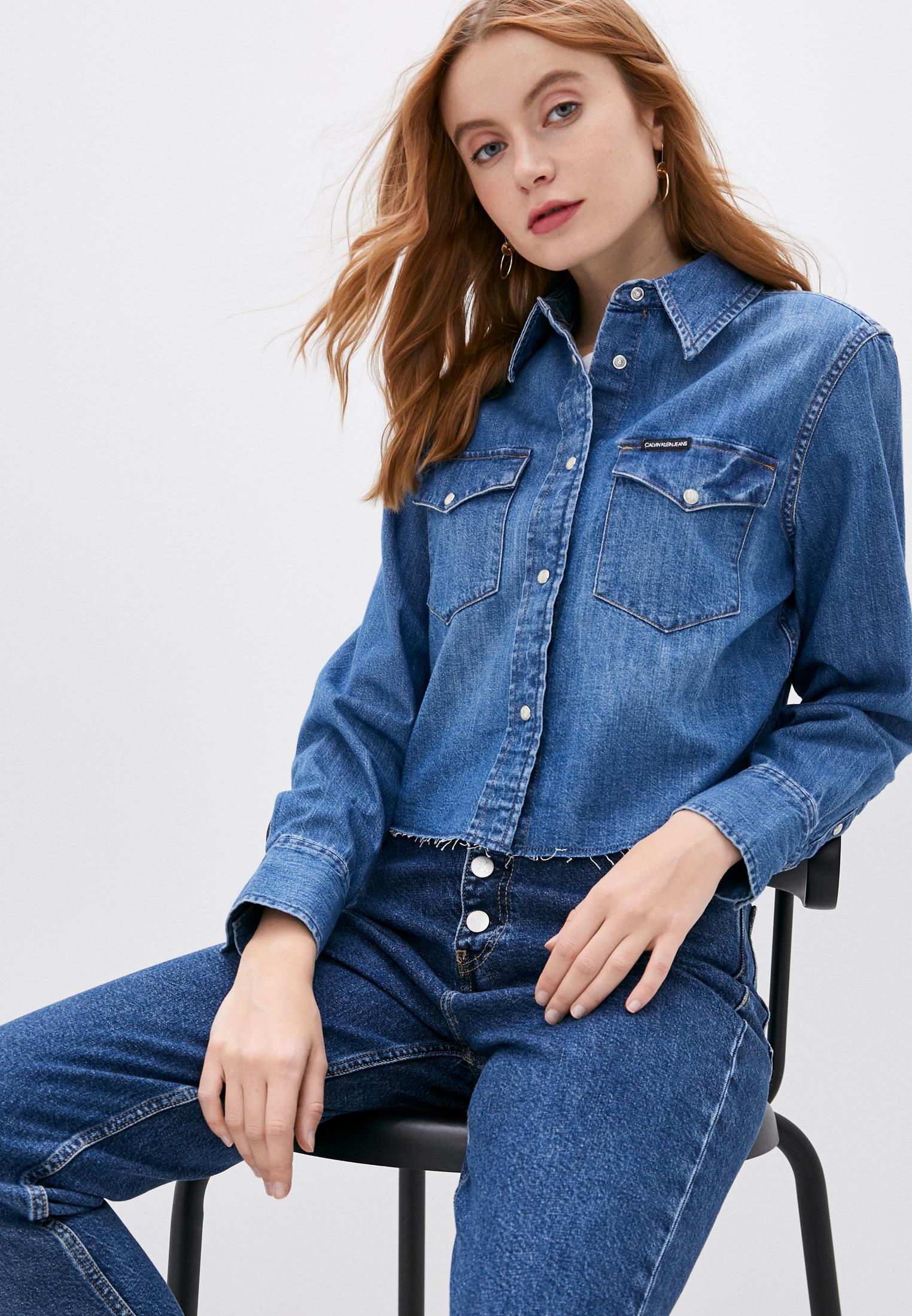 Женские джинсовые рубашки Calvin Klein Jeans J20J213355