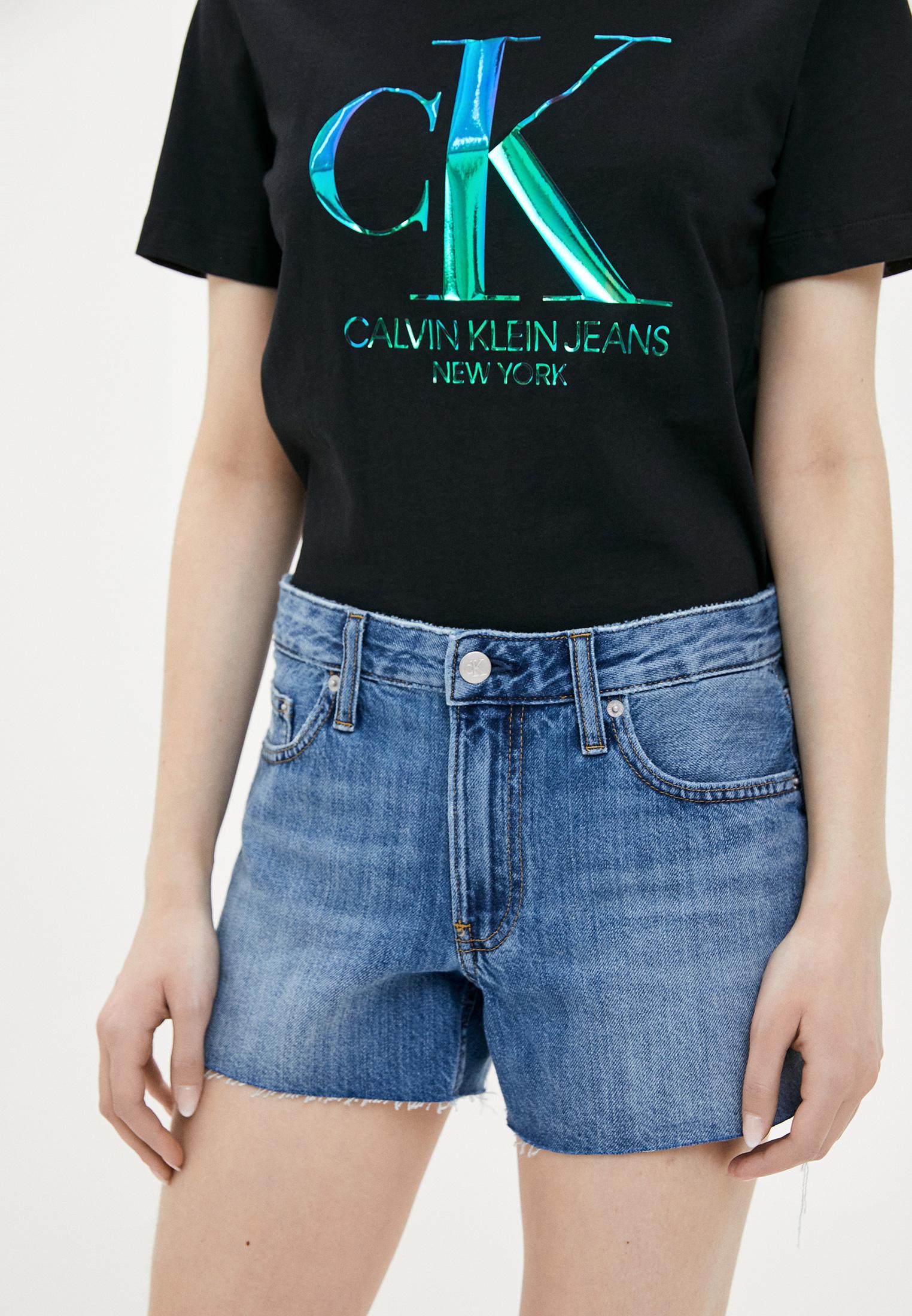 Женские джинсовые шорты Calvin Klein Jeans J20J213350
