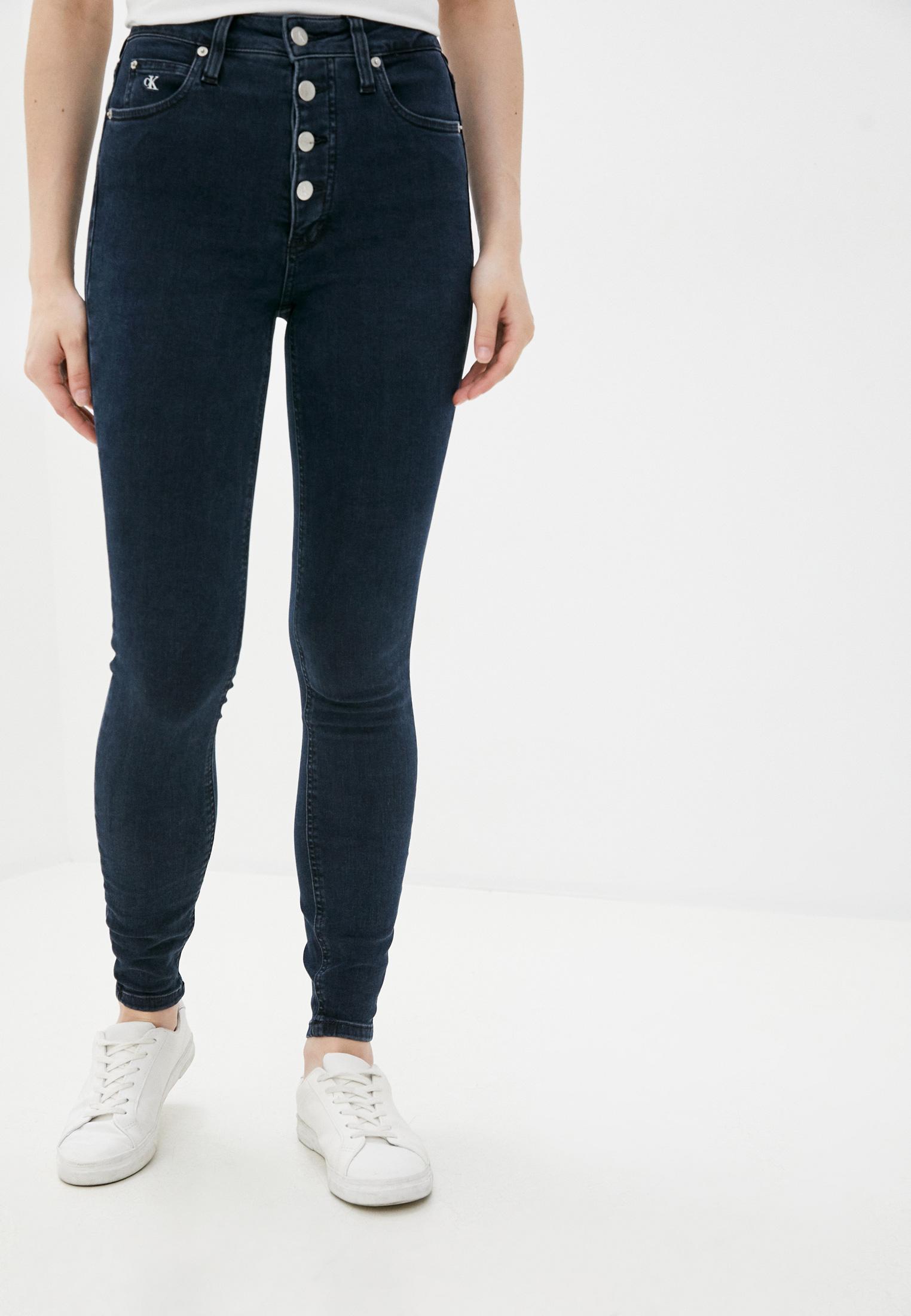 Зауженные джинсы Calvin Klein Jeans J20J214418: изображение 1
