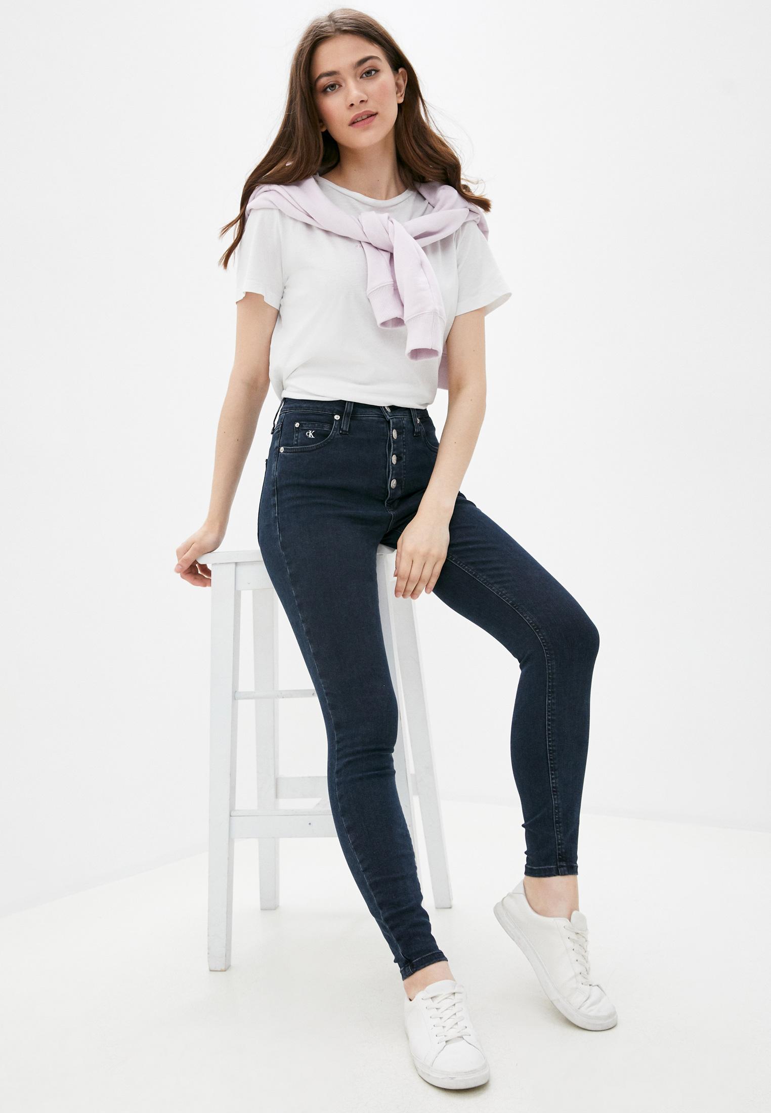 Зауженные джинсы Calvin Klein Jeans J20J214418: изображение 2