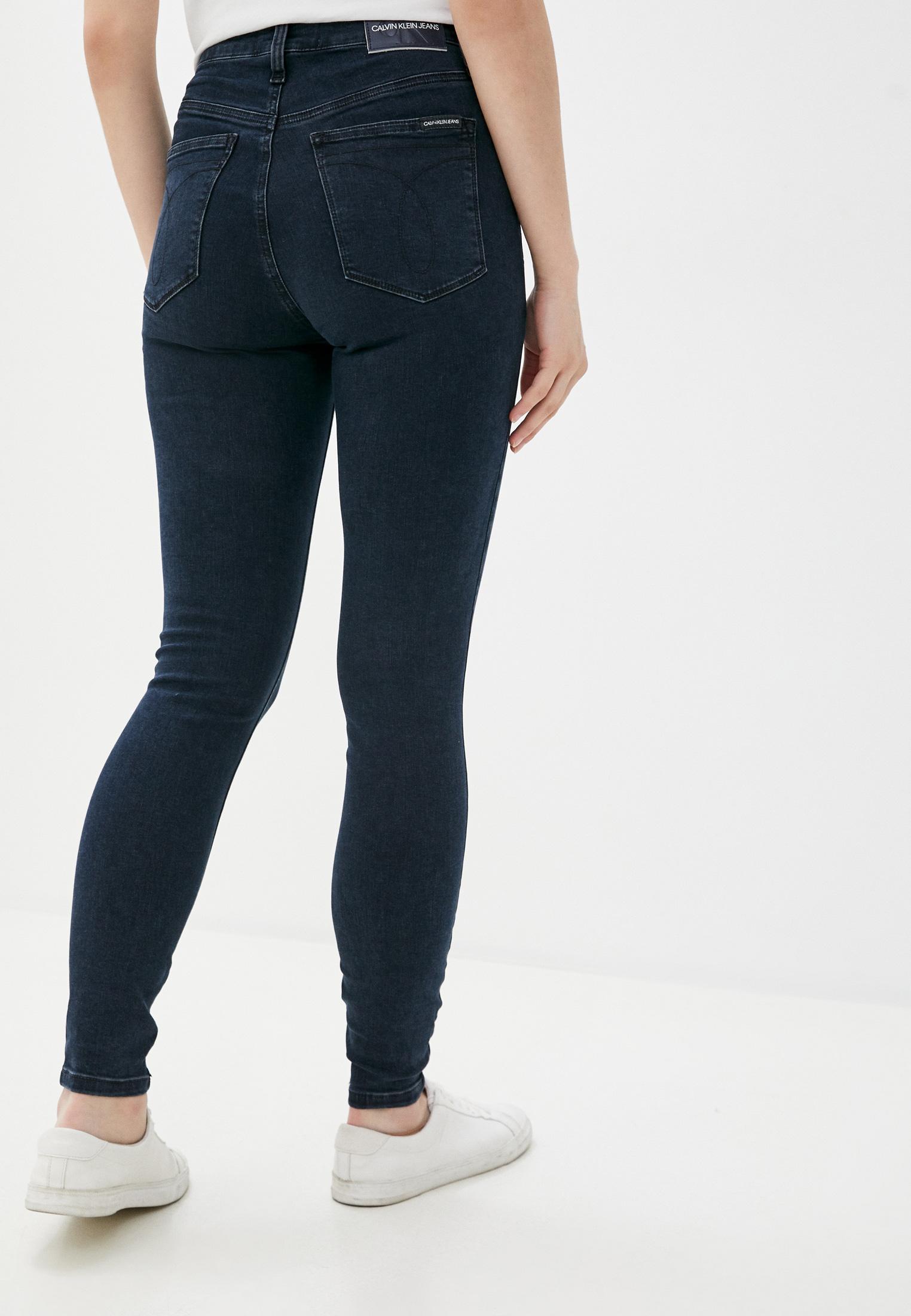 Зауженные джинсы Calvin Klein Jeans J20J214418: изображение 3