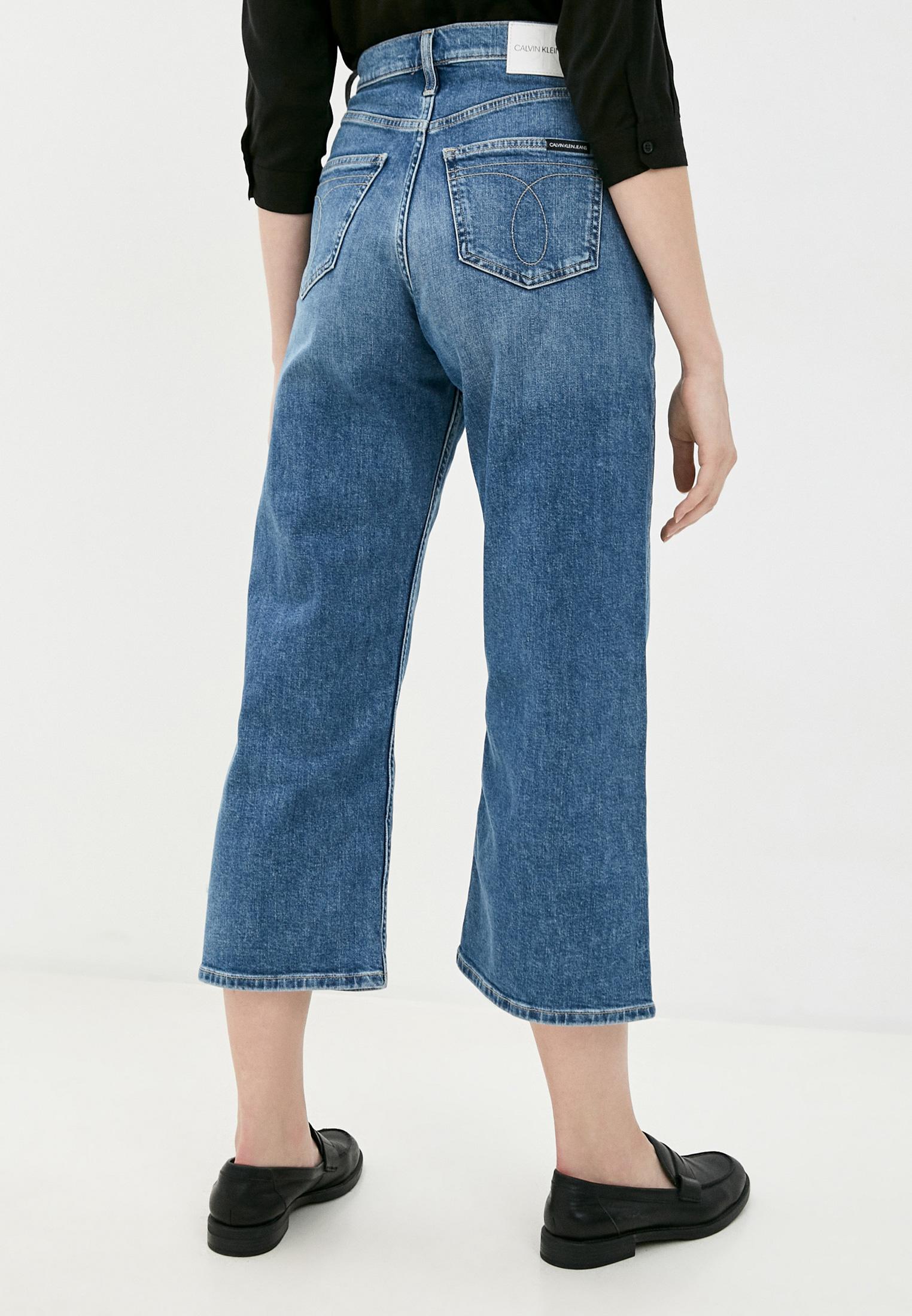 Широкие и расклешенные джинсы Calvin Klein Jeans J20J214419: изображение 3