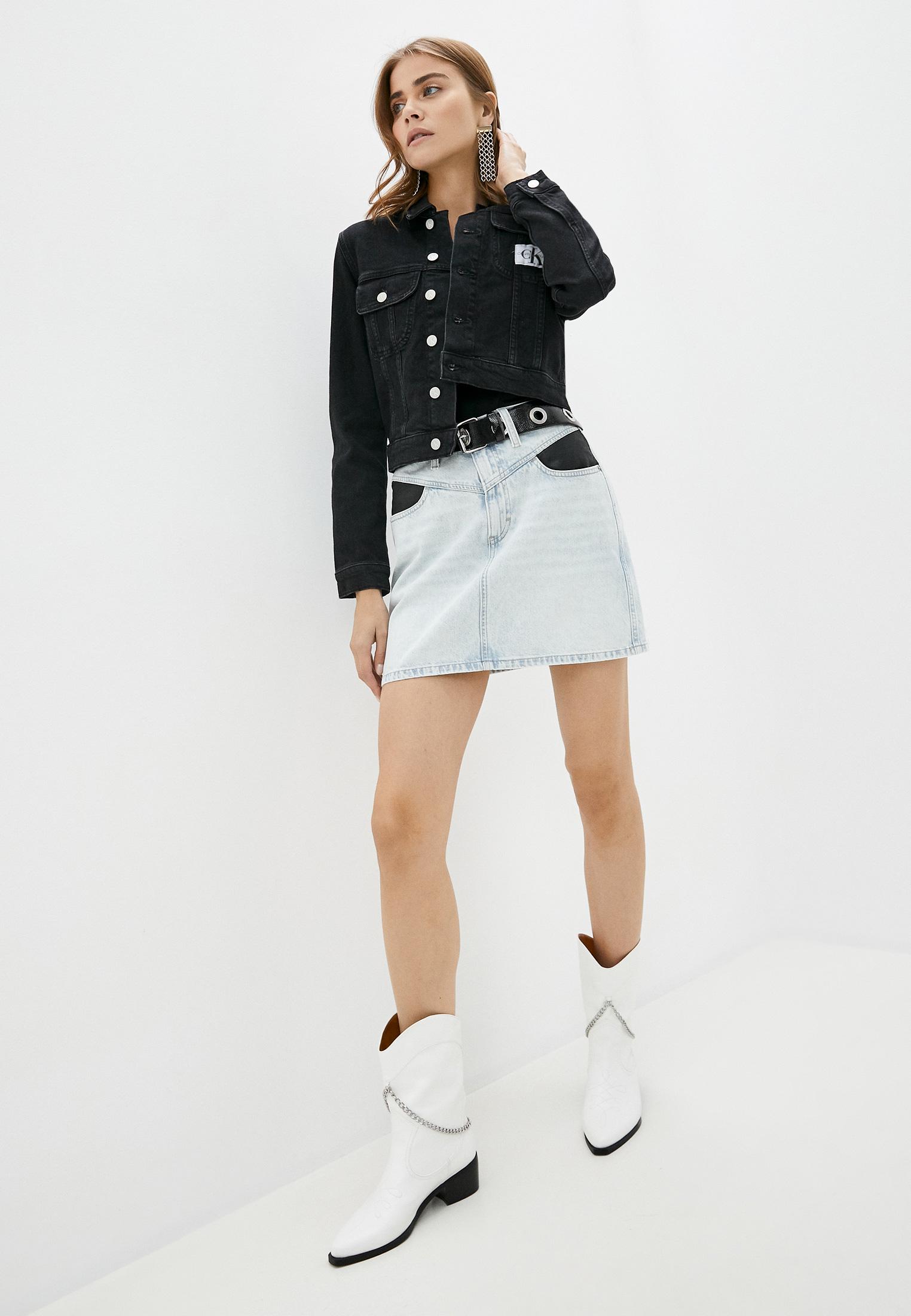 Джинсовая юбка Calvin Klein Jeans J20J214035: изображение 2