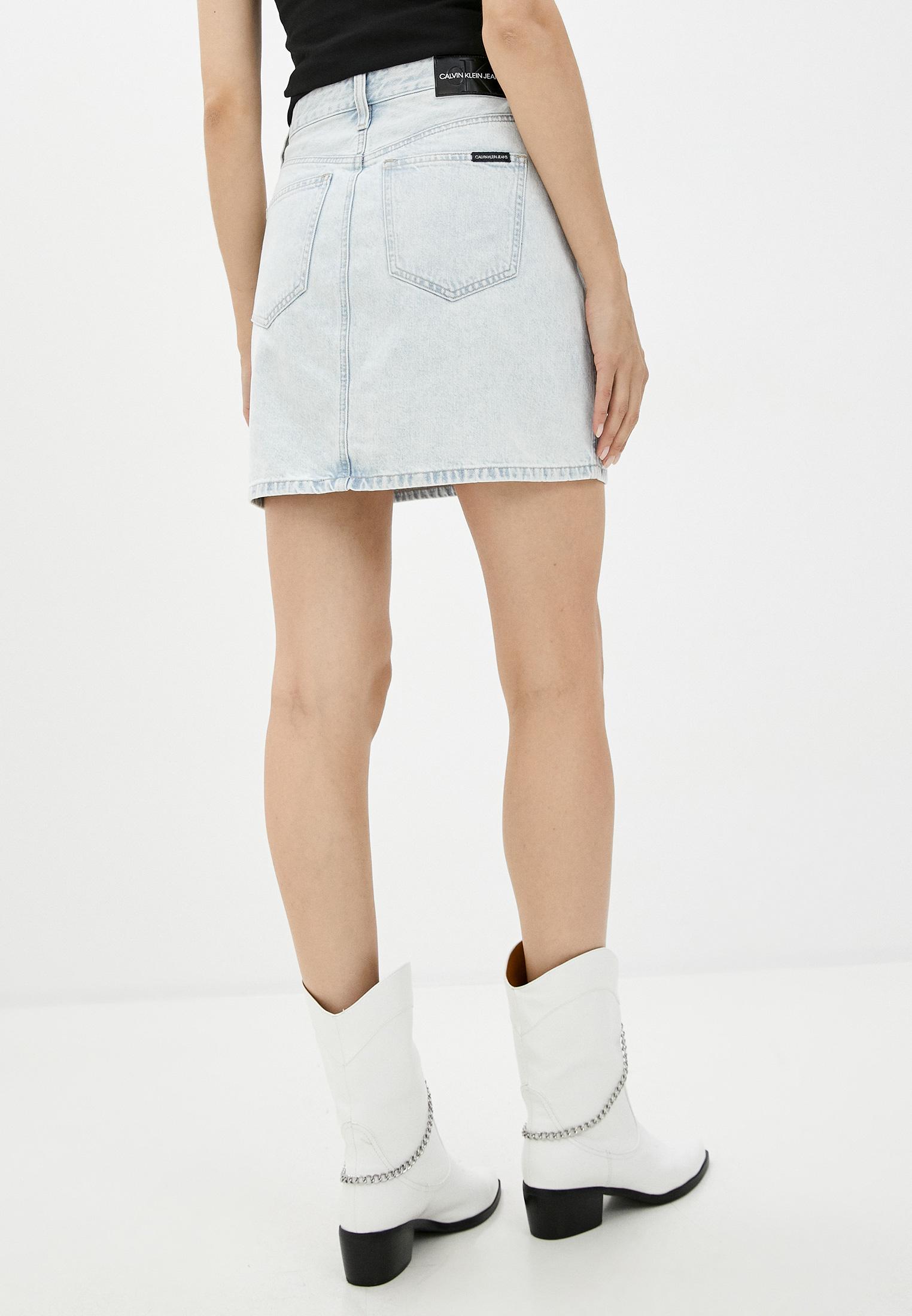 Джинсовая юбка Calvin Klein Jeans J20J214035: изображение 3