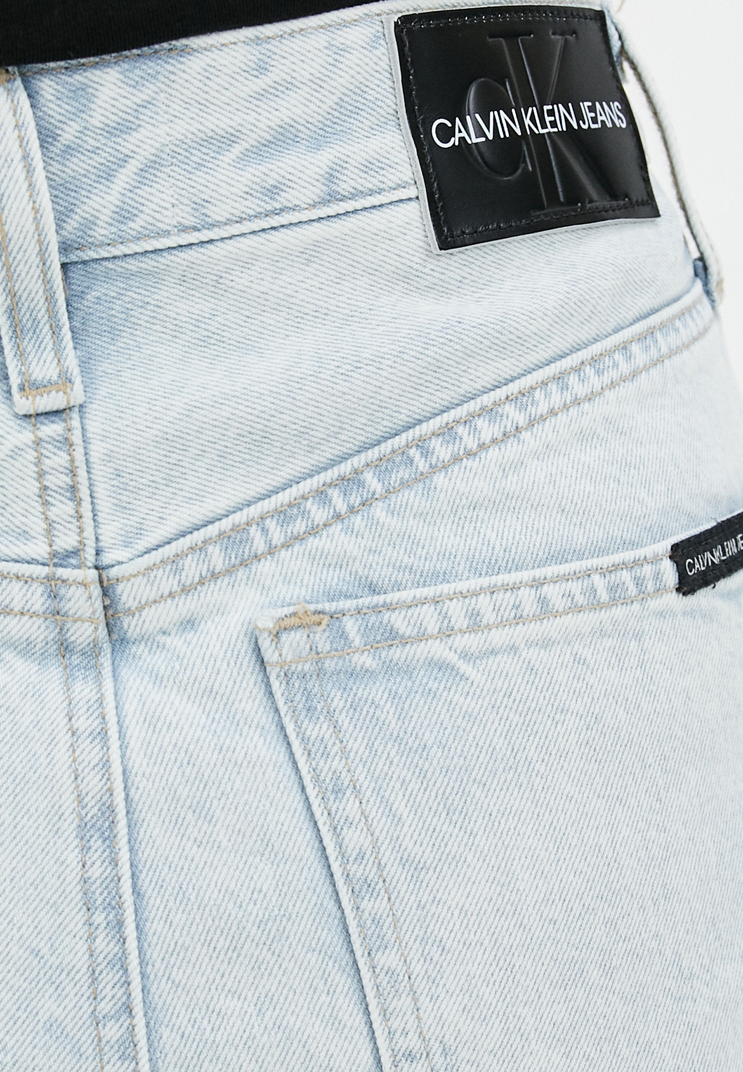 Джинсовая юбка Calvin Klein Jeans J20J214035: изображение 4