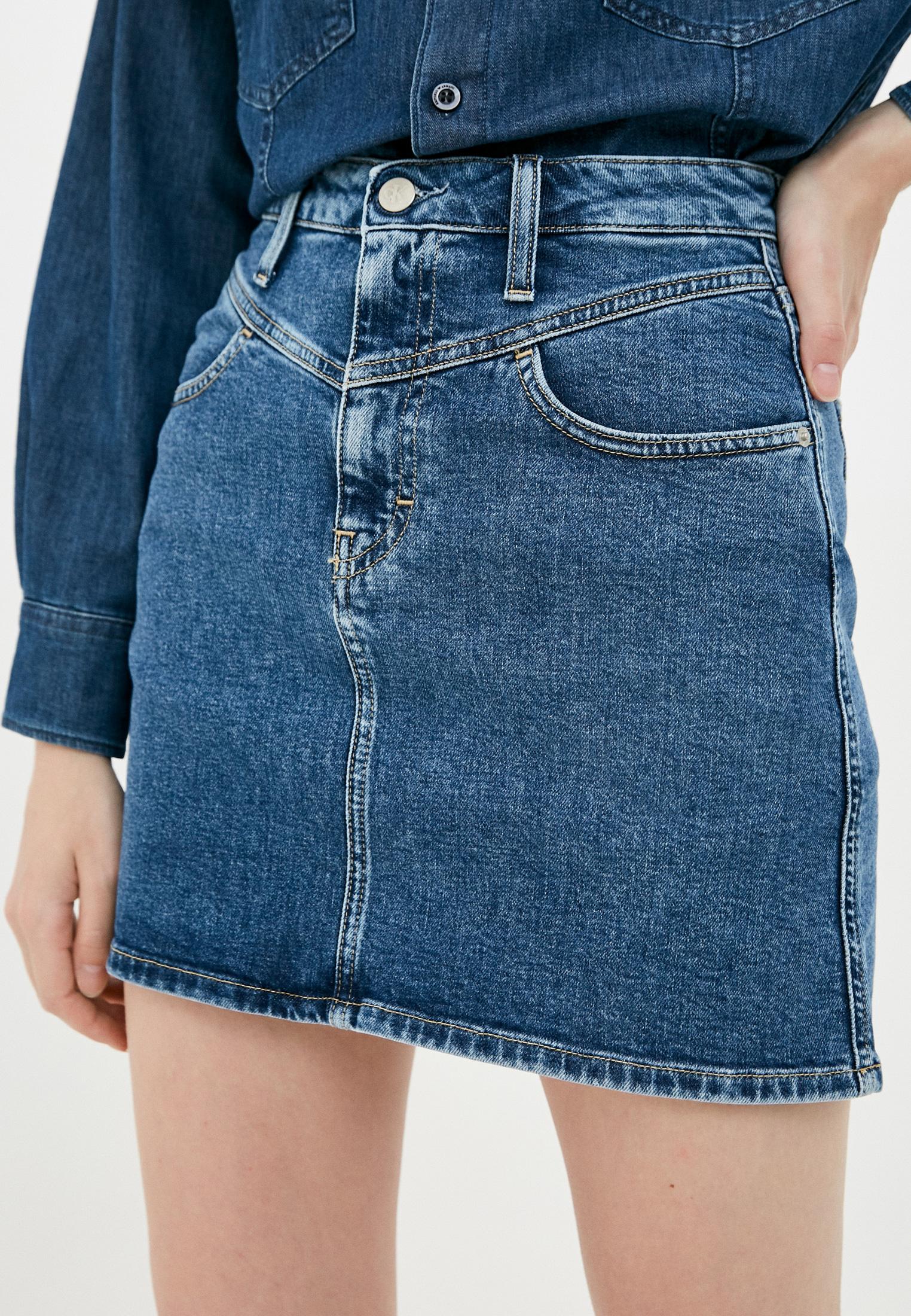 Джинсовая юбка Calvin Klein Jeans J20J214445