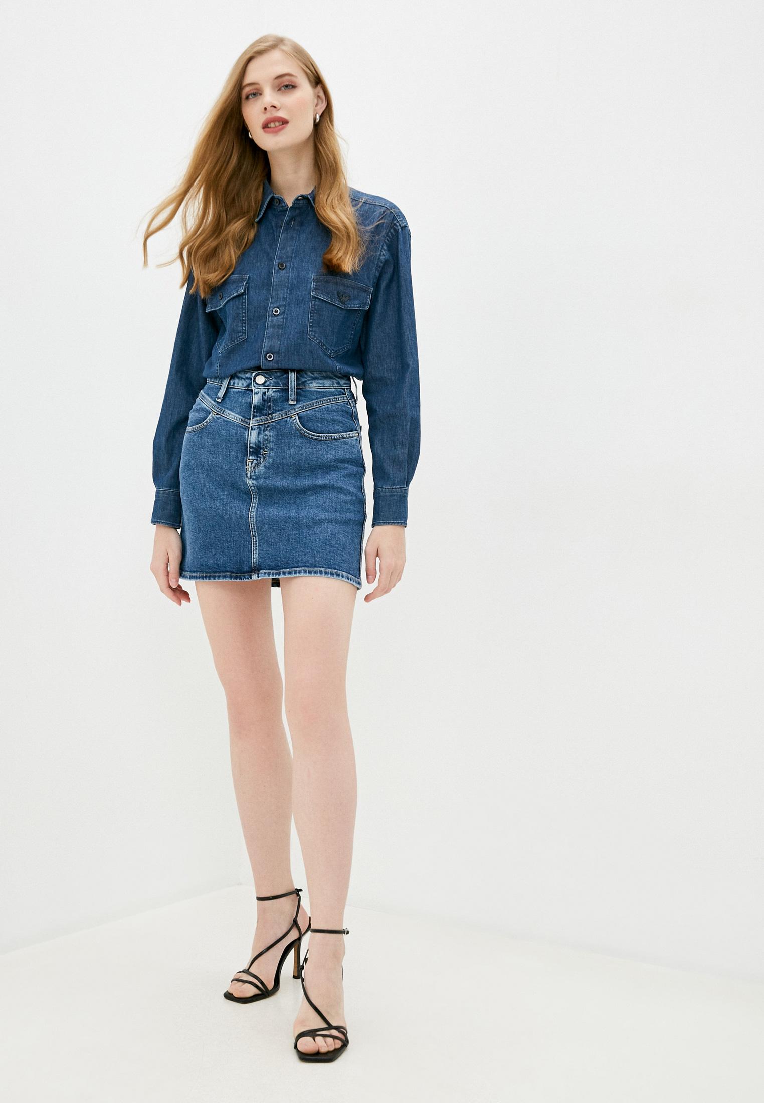 Джинсовая юбка Calvin Klein Jeans J20J214445: изображение 2