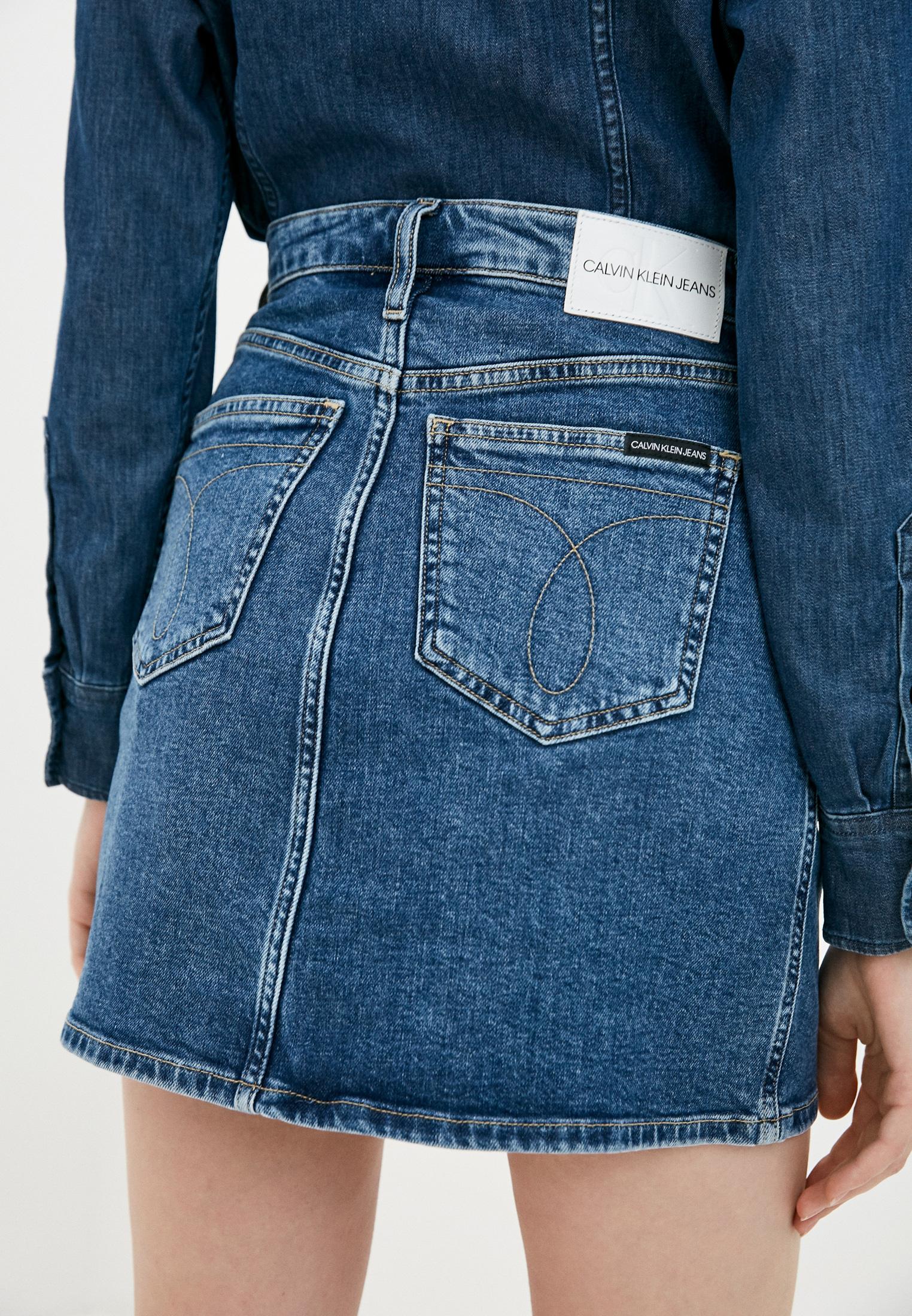 Джинсовая юбка Calvin Klein Jeans J20J214445: изображение 3