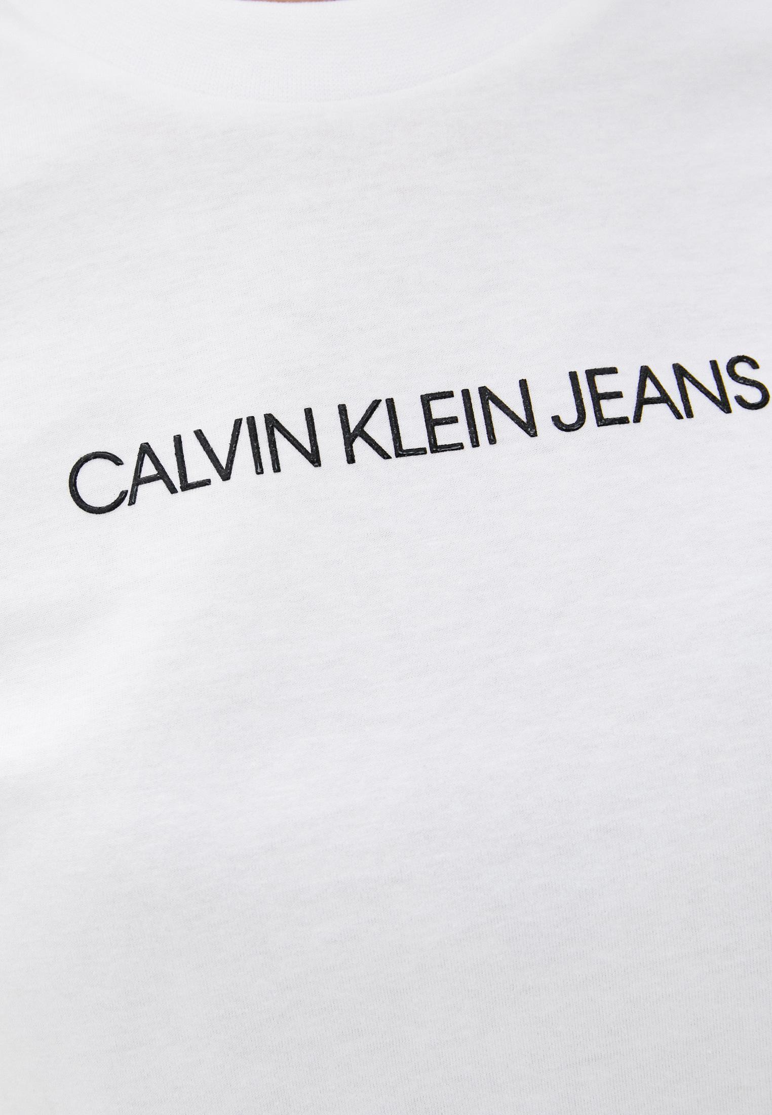 Футболка с коротким рукавом Calvin Klein Jeans J20J214220: изображение 7