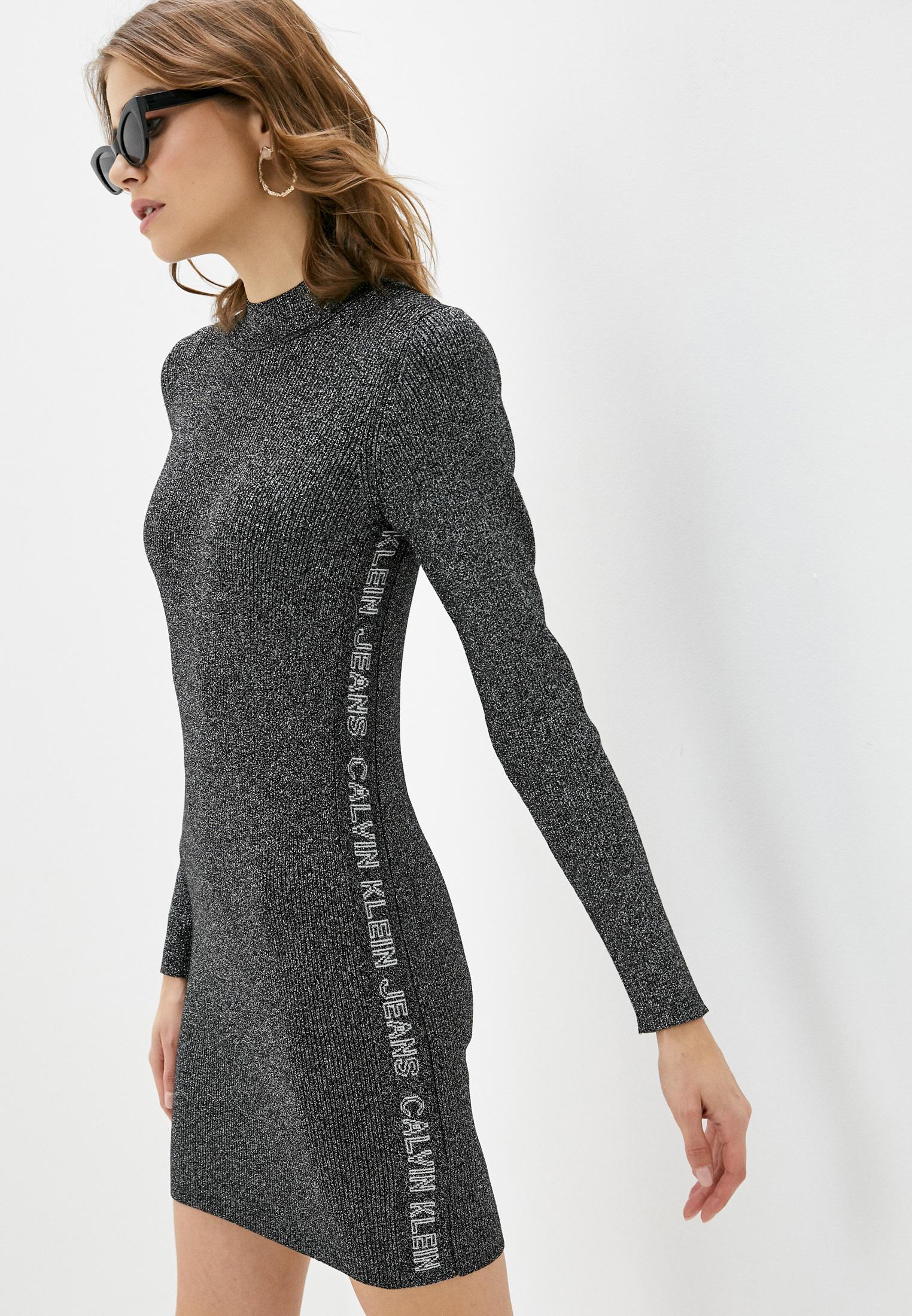 Вязаное платье Calvin Klein Jeans J20J214927