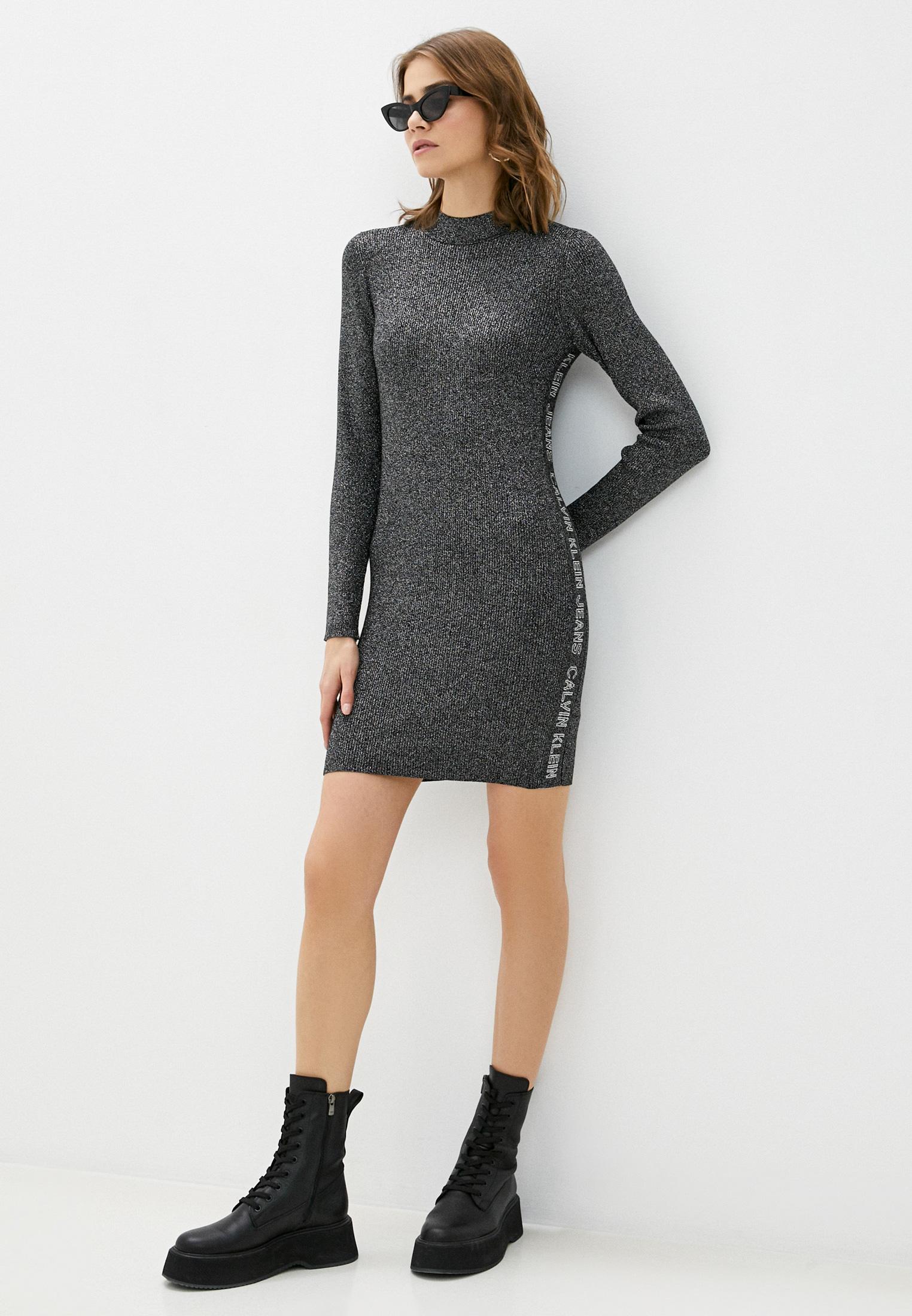 Вязаное платье Calvin Klein Jeans J20J214927: изображение 3
