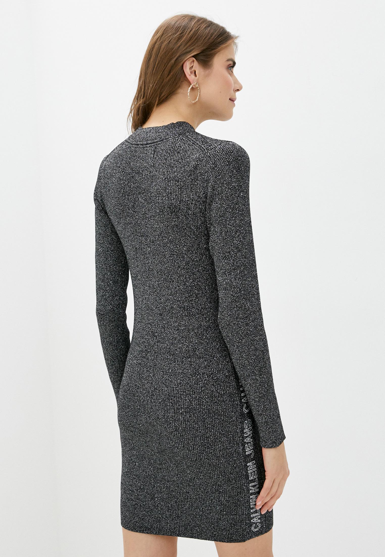 Вязаное платье Calvin Klein Jeans J20J214927: изображение 4