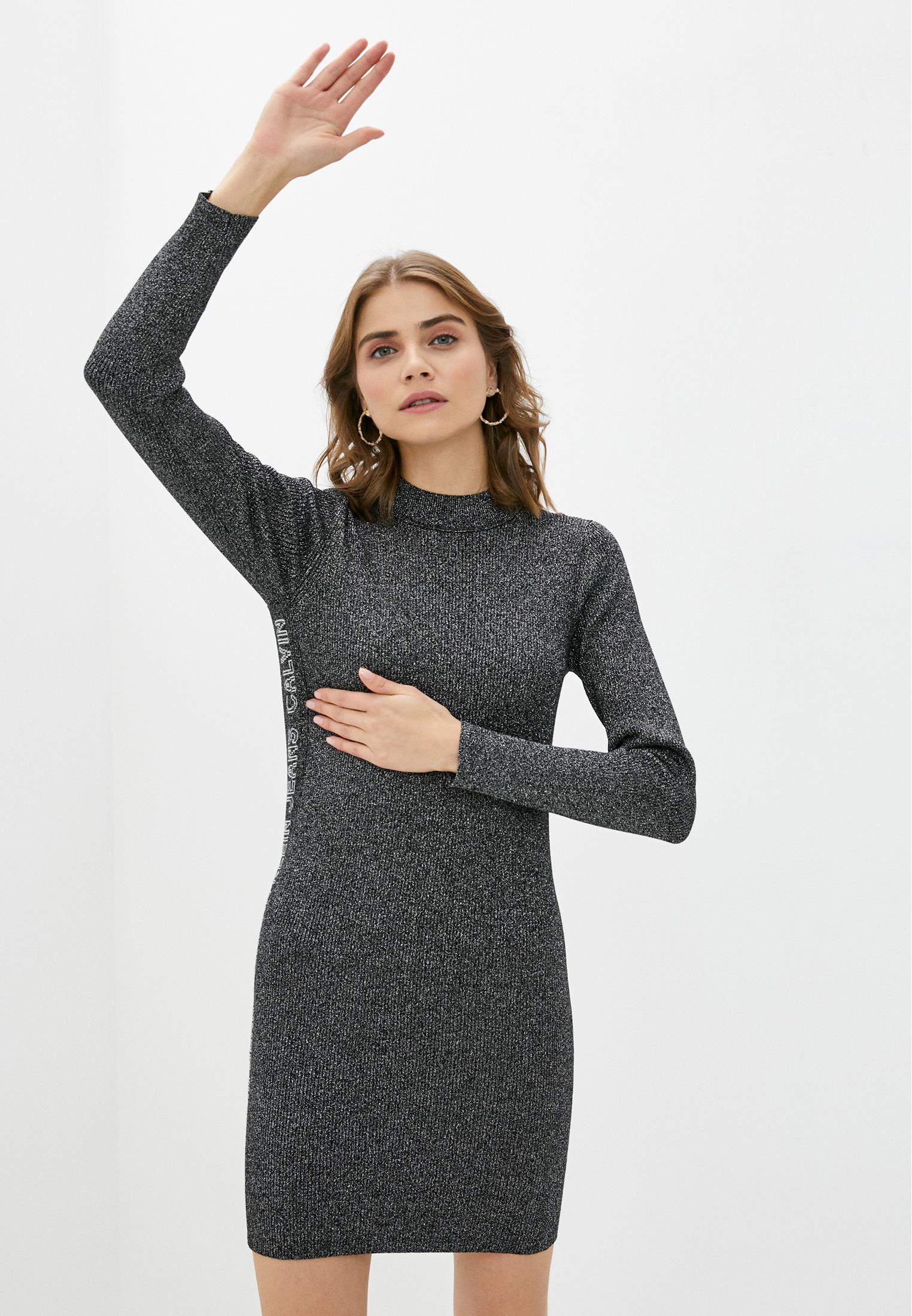 Вязаное платье Calvin Klein Jeans J20J214927: изображение 6