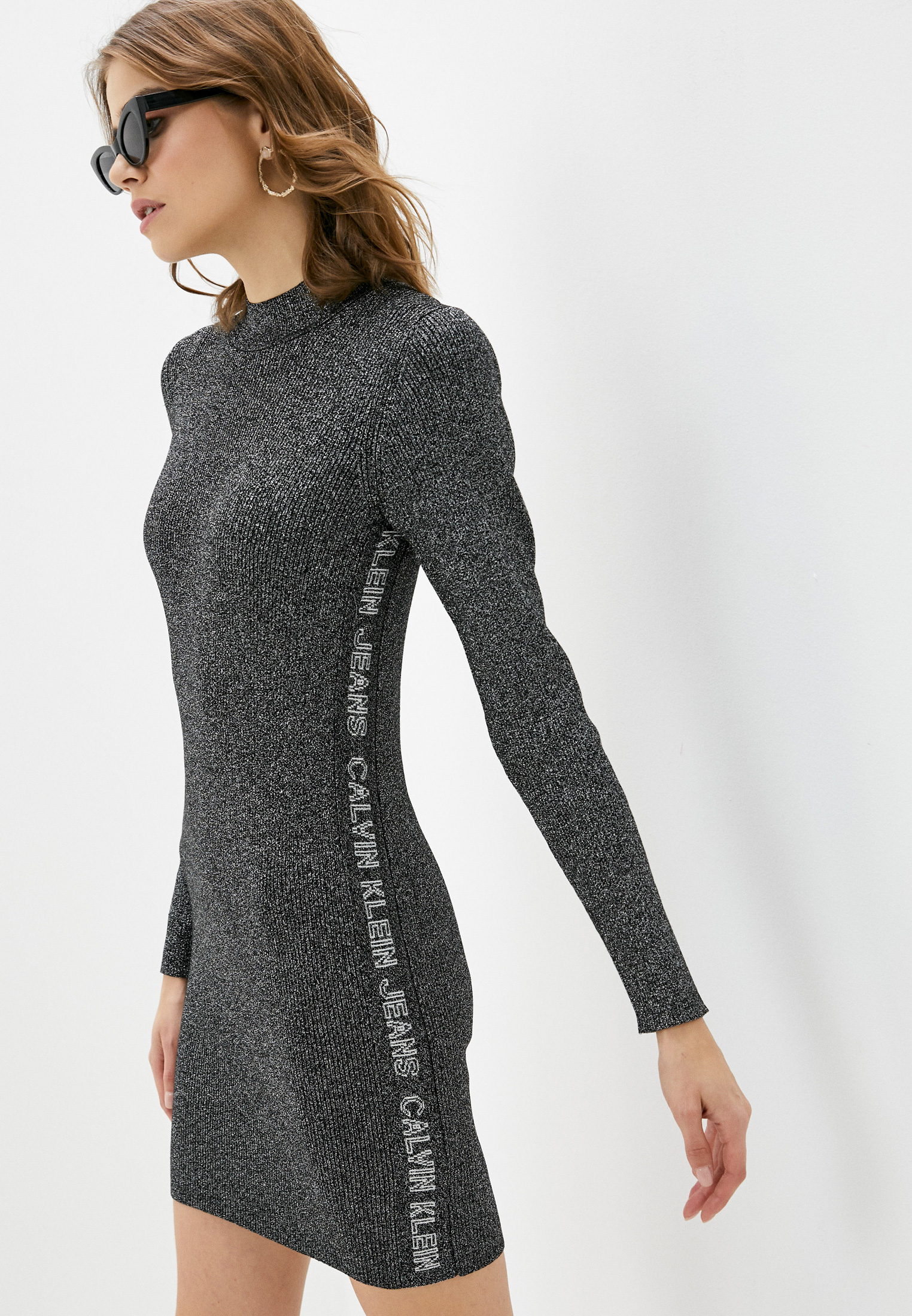 Вязаное платье Calvin Klein Jeans J20J214927: изображение 7