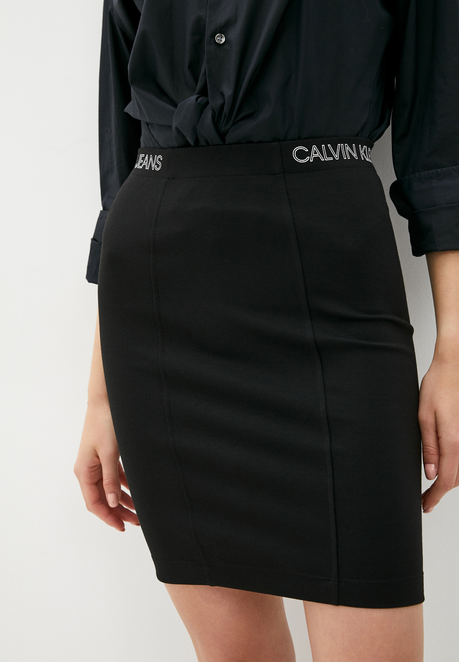 Узкая юбка Calvin Klein Jeans J20J214945