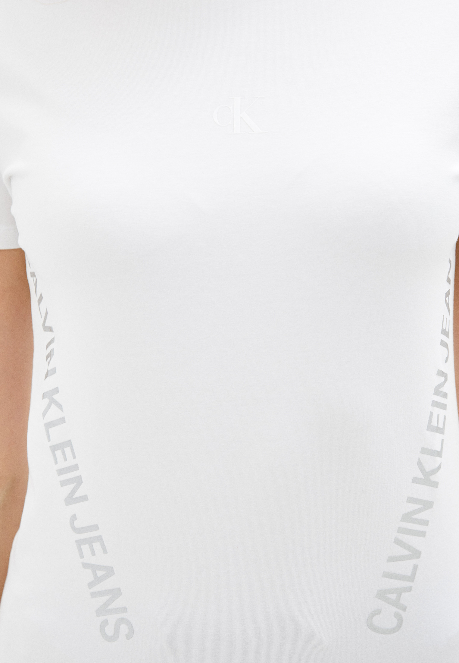 Футболка с коротким рукавом Calvin Klein Jeans J20J214779: изображение 3