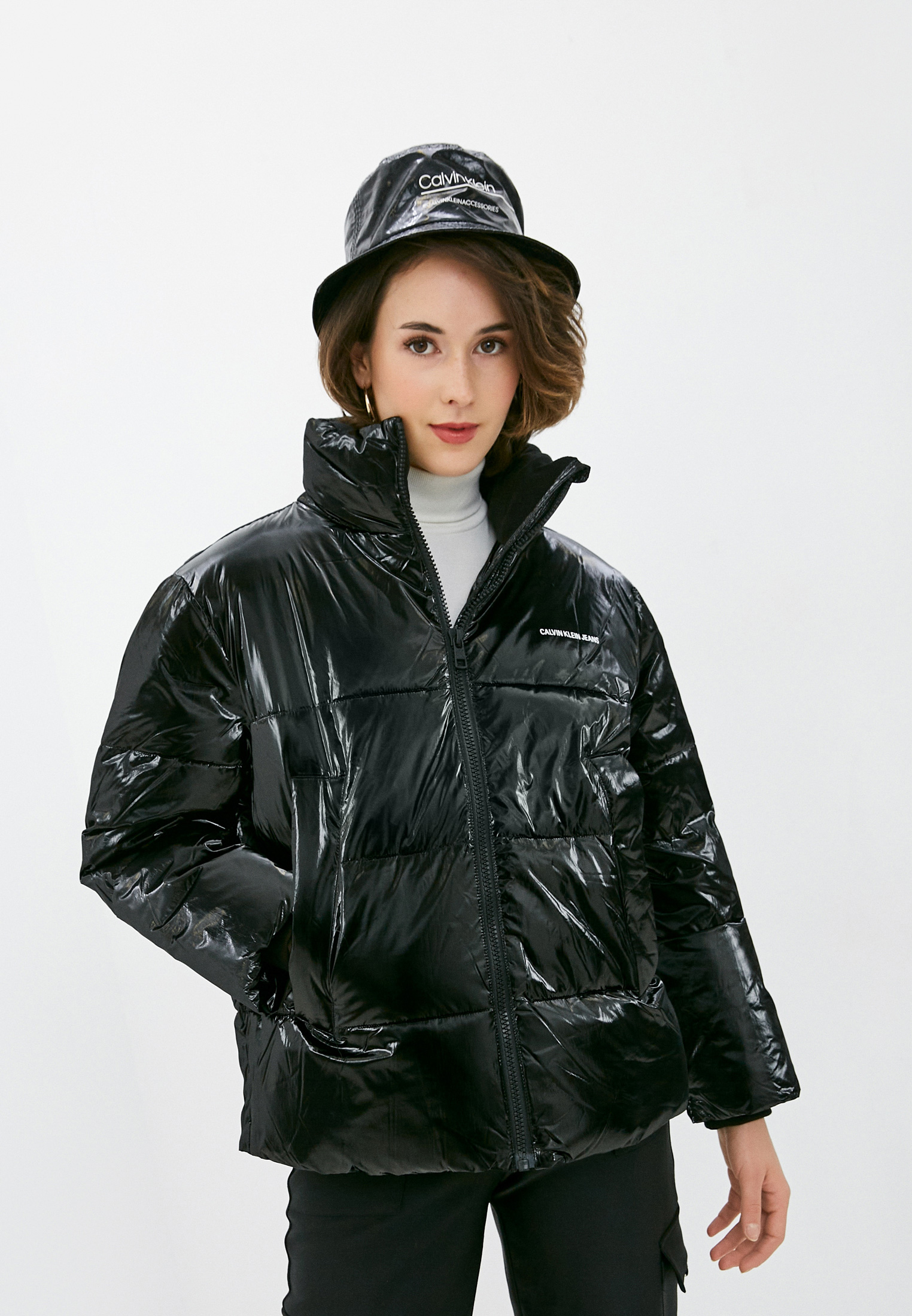 Утепленная куртка Calvin Klein Jeans J20J216376