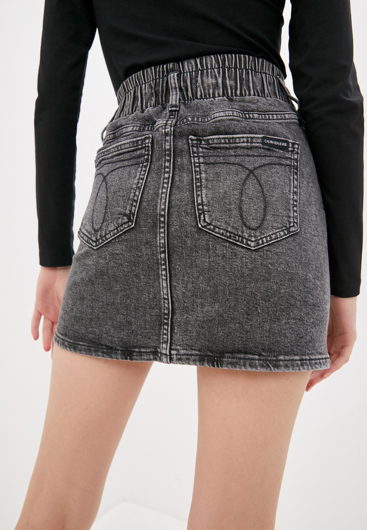 Джинсовая юбка Calvin Klein Jeans J20J215437: изображение 3