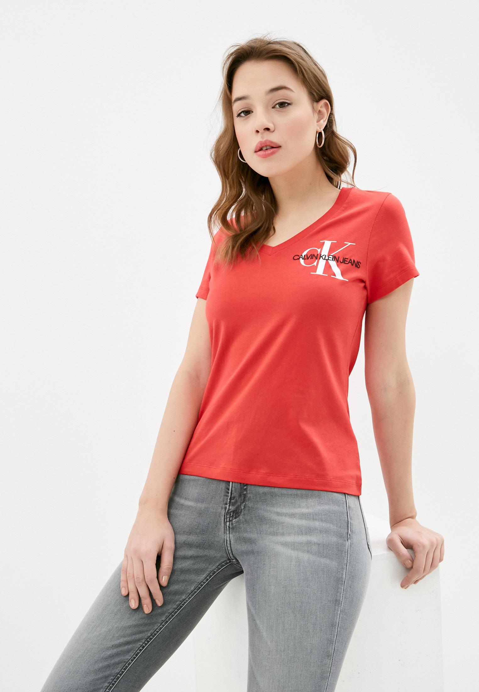 Футболка с коротким рукавом Calvin Klein Jeans J20J217228: изображение 1