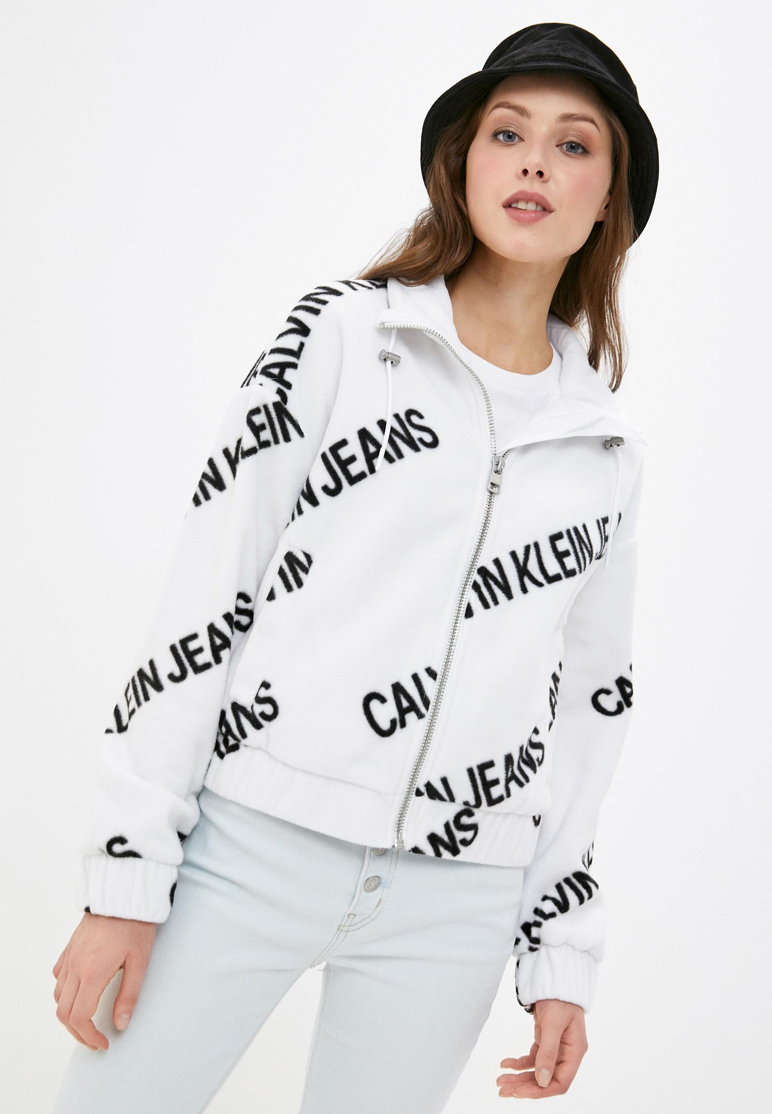 Флисовая толстовка Calvin Klein Jeans J20J216341: изображение 1
