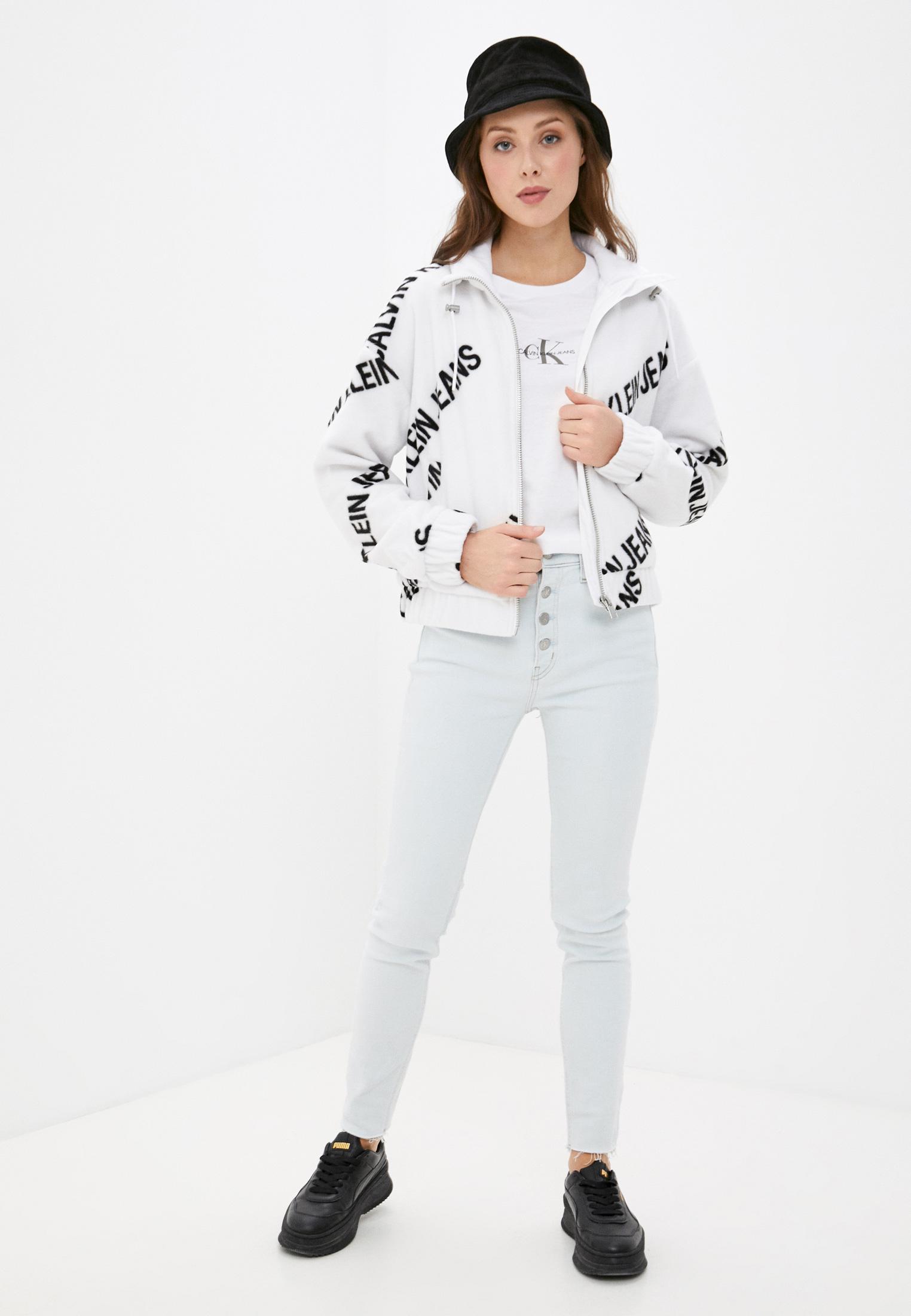 Флисовая толстовка Calvin Klein Jeans J20J216341: изображение 2
