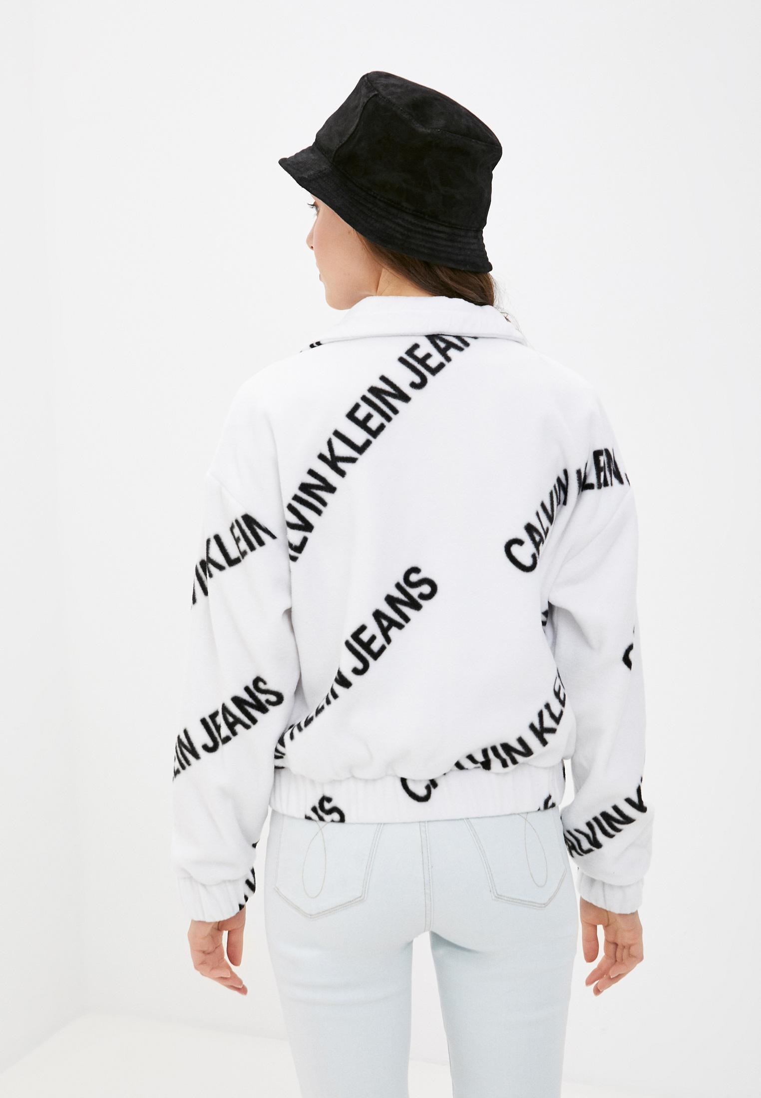 Флисовая толстовка Calvin Klein Jeans J20J216341: изображение 3