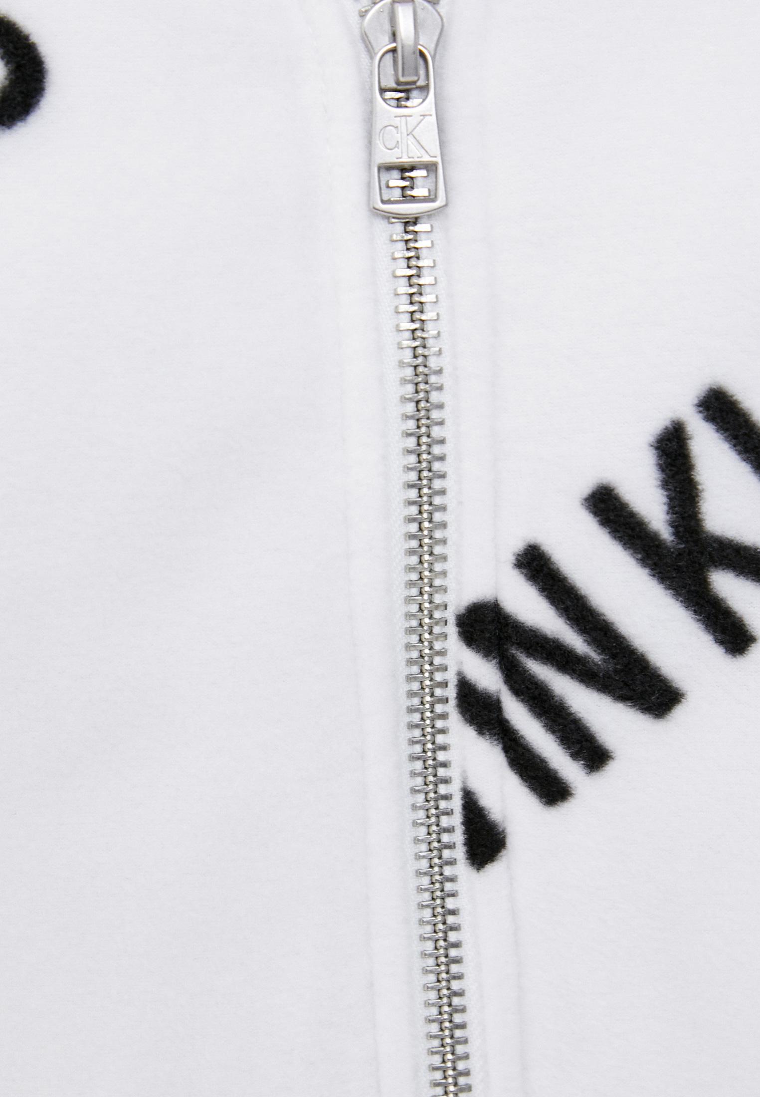 Флисовая толстовка Calvin Klein Jeans J20J216341: изображение 4