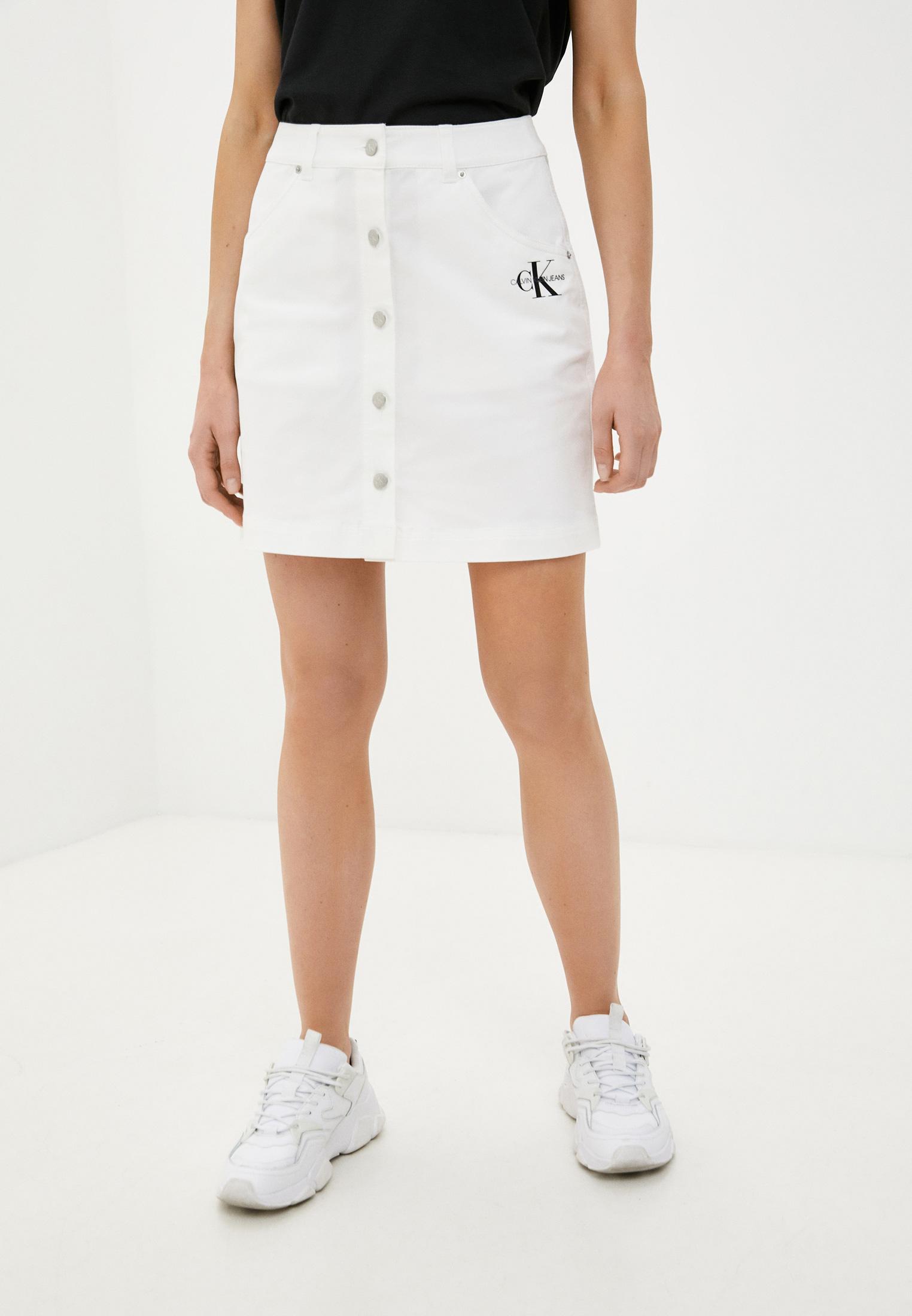 Прямая юбка Calvin Klein Jeans J20J215720