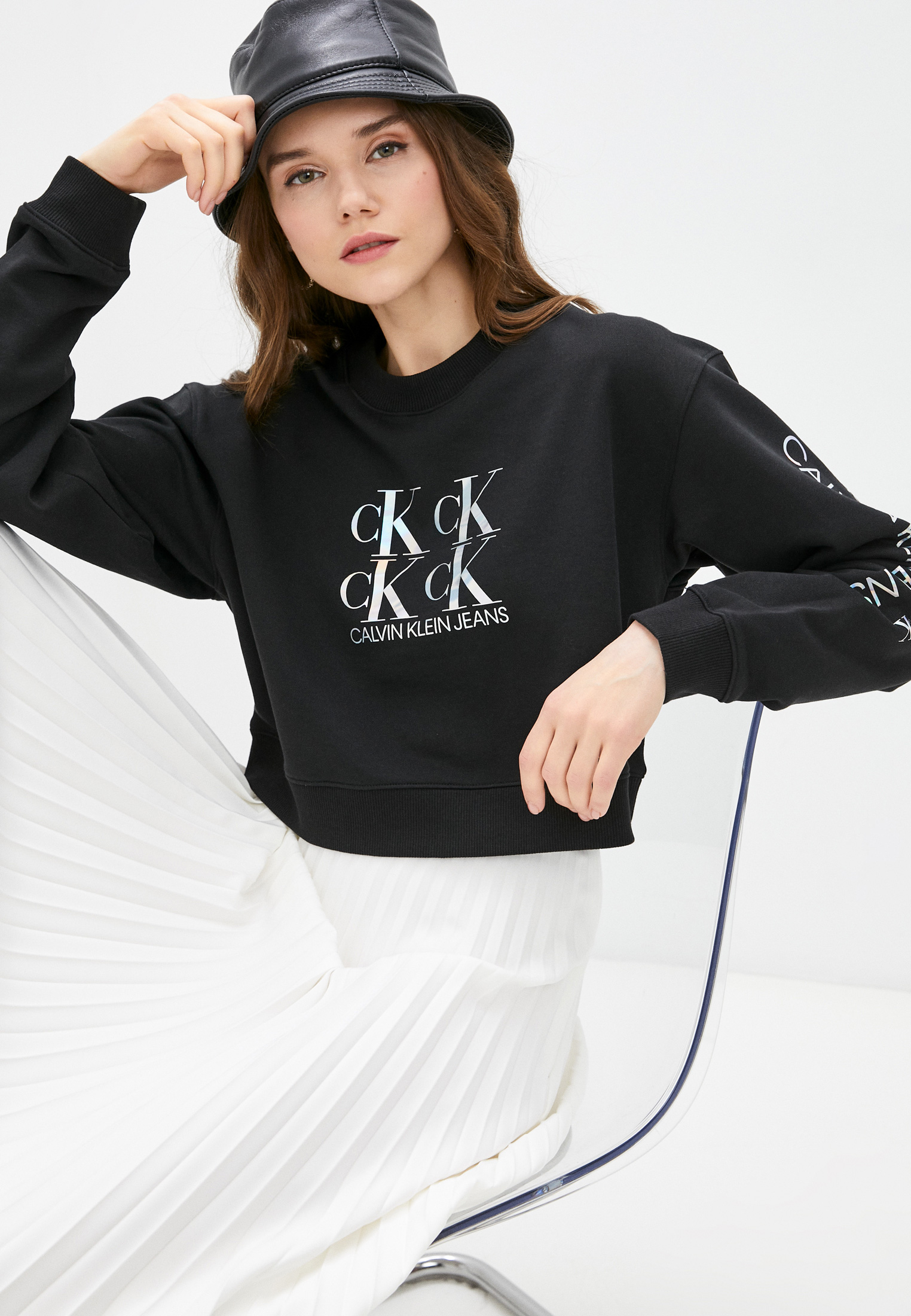 Свитер Calvin Klein Jeans J20J215575: изображение 1