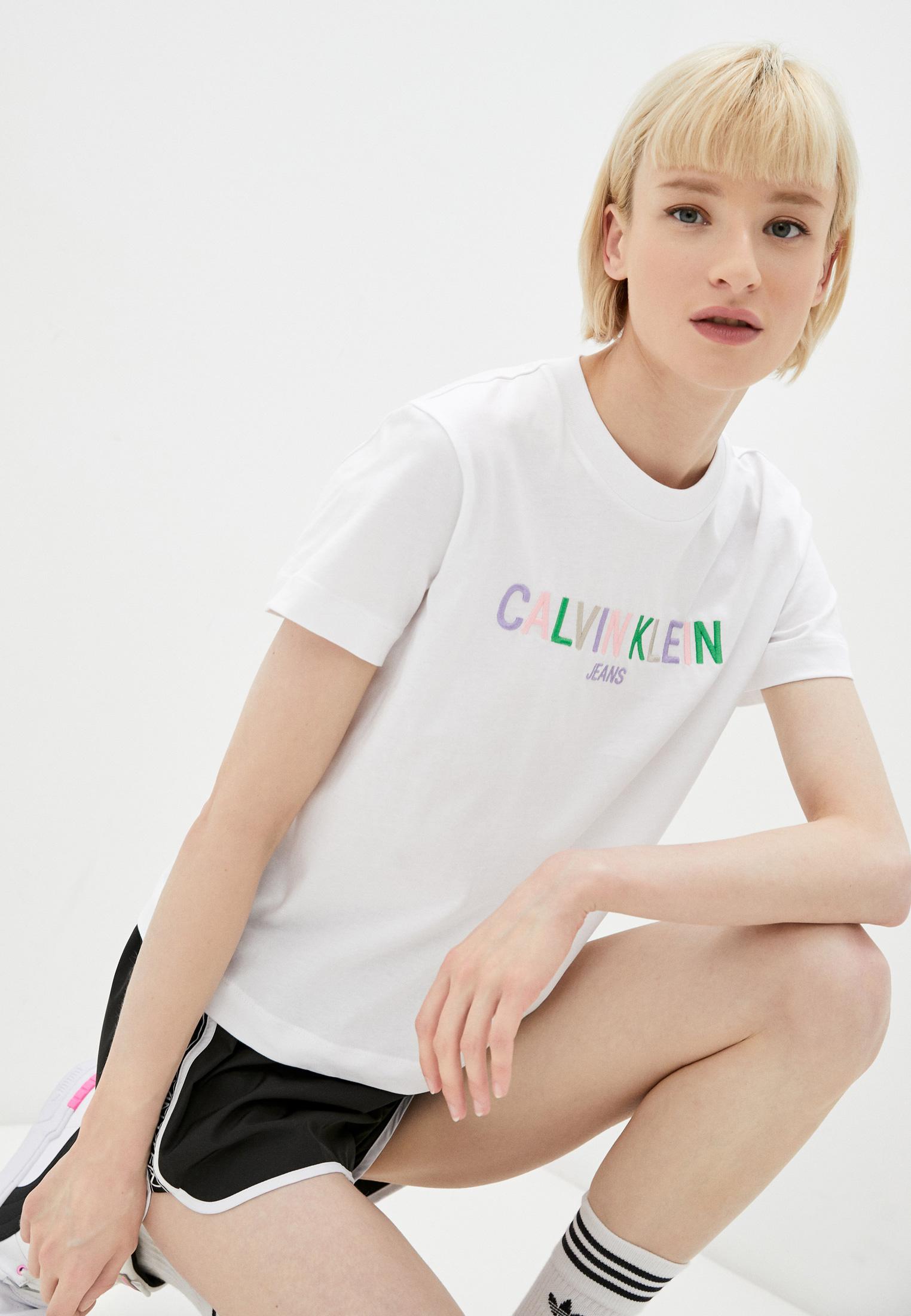 Футболка с коротким рукавом Calvin Klein Jeans J20J215487