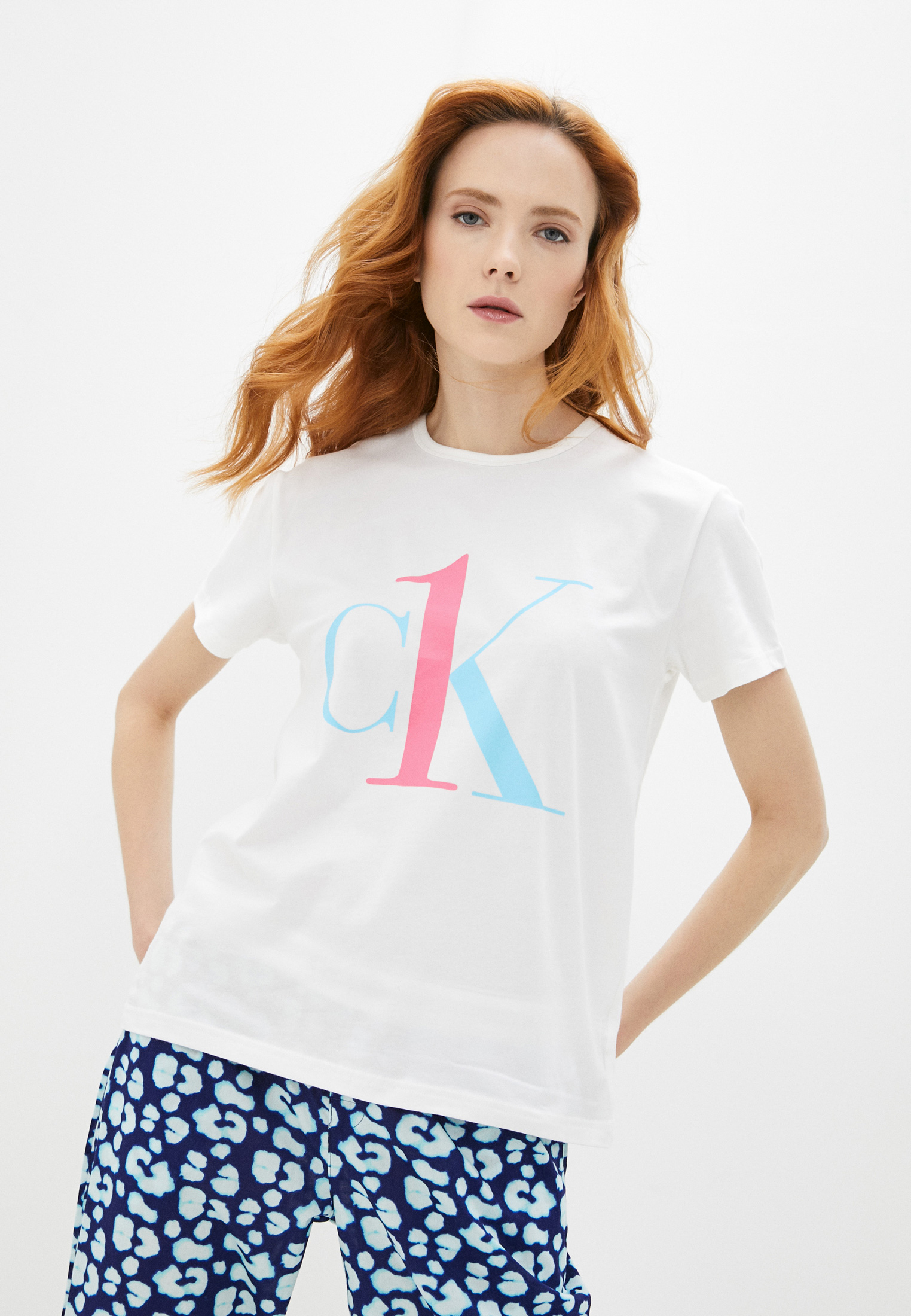 Футболка с коротким рукавом Calvin Klein Underwear QS6436E: изображение 9