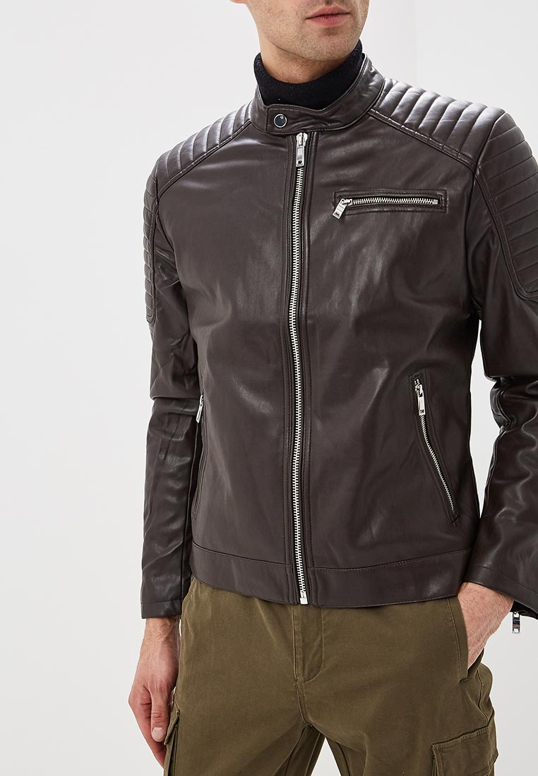 Кожаная куртка Celio (Селио) MUBIKER