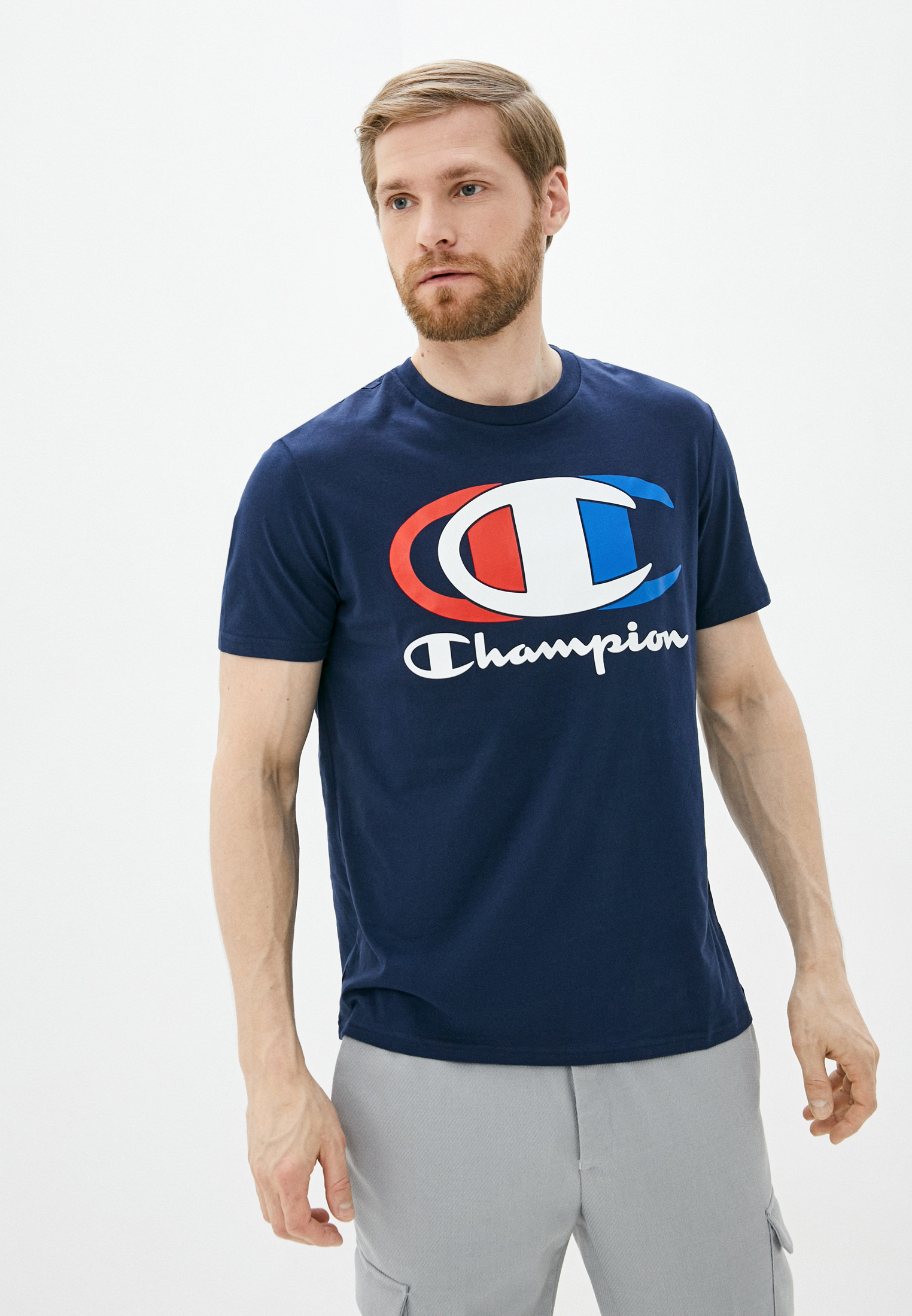 Футболка Champion (Чемпион) 214309: изображение 1