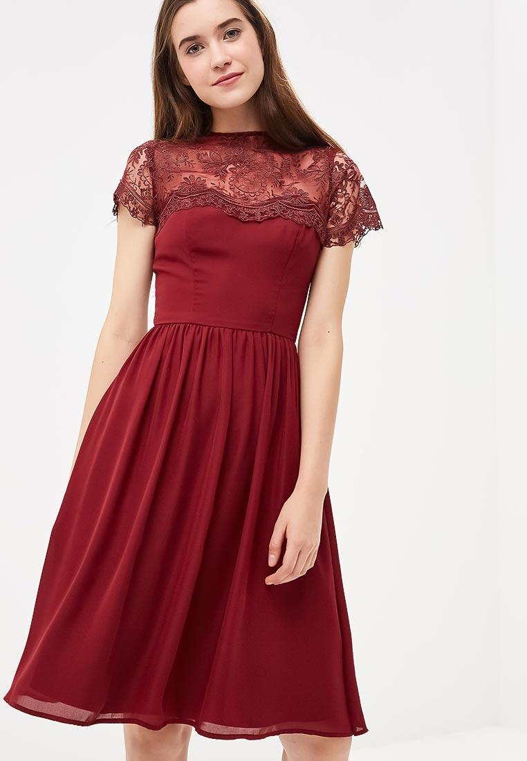 Вечернее / коктейльное платье Chi Chi London 52400BUR