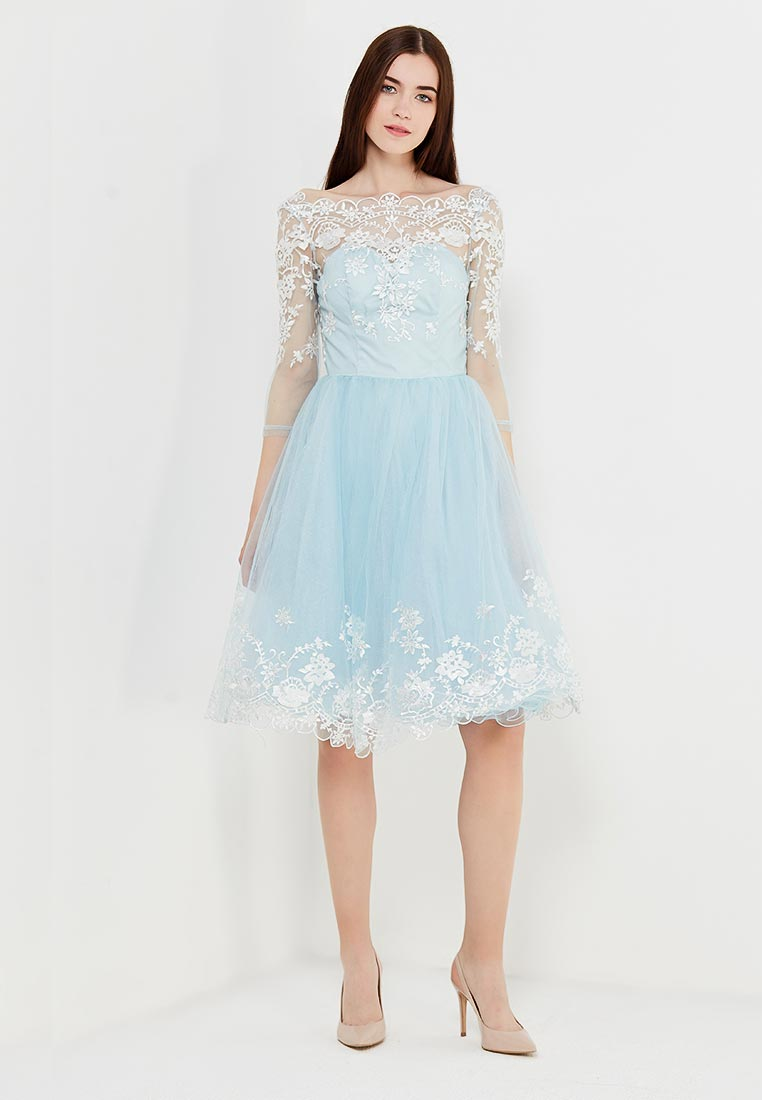Платье-мини Chi Chi London 42720BL: изображение 2