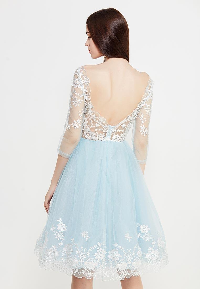 Платье-мини Chi Chi London 42720BL: изображение 3