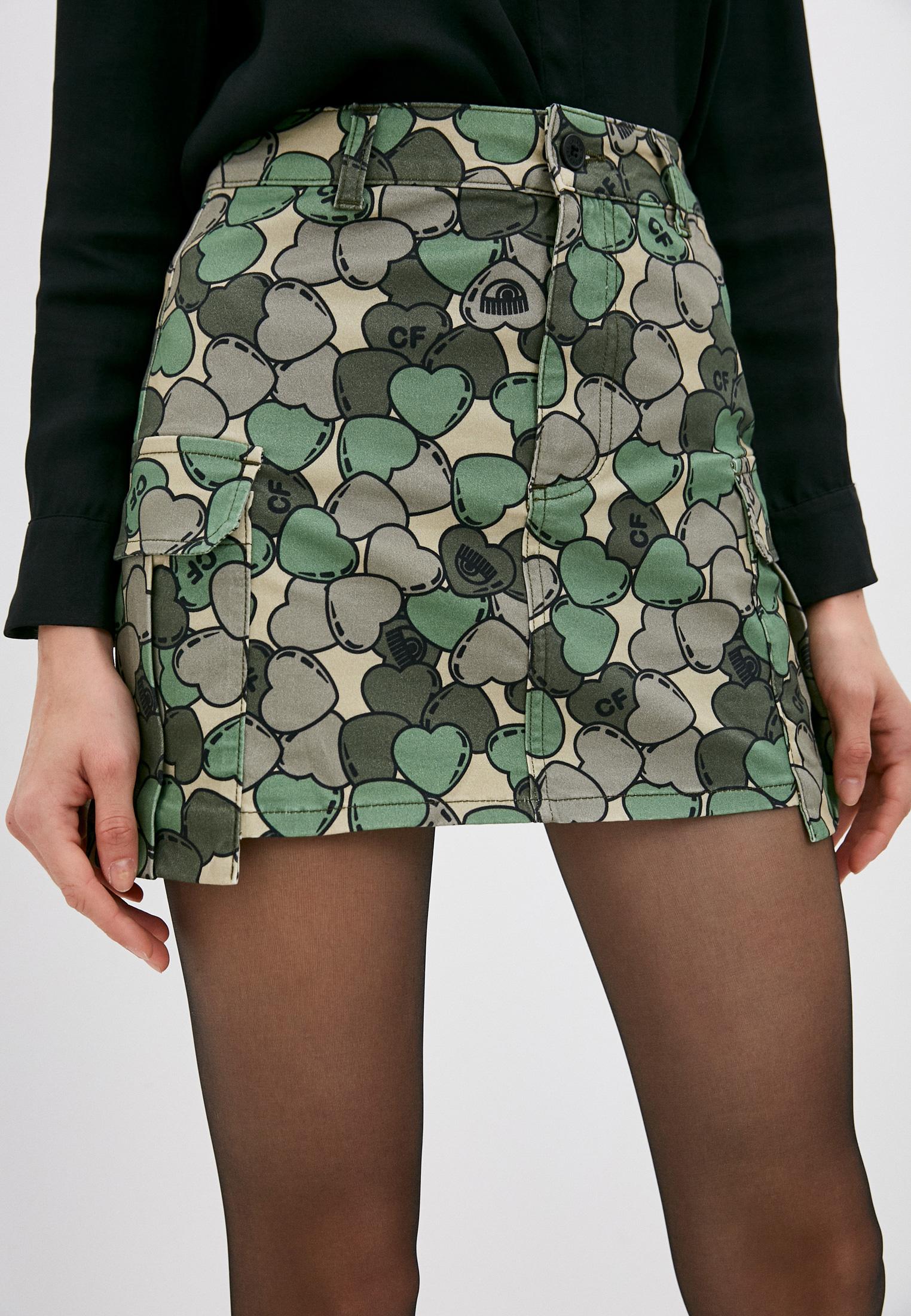 Широкая юбка Chiara Ferragni Collection CFST033